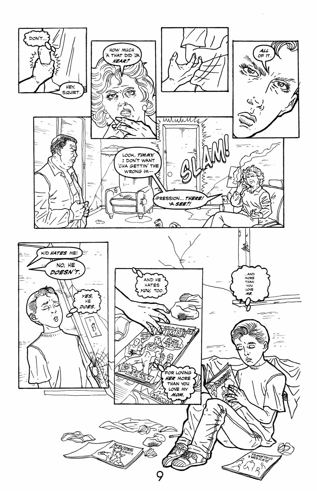 Read online A Touch of Silver comic -  Issue #6 - 11