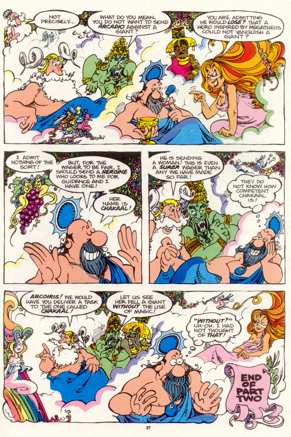 Read online Sergio Aragonés Groo the Wanderer comic -  Issue #97 - 28