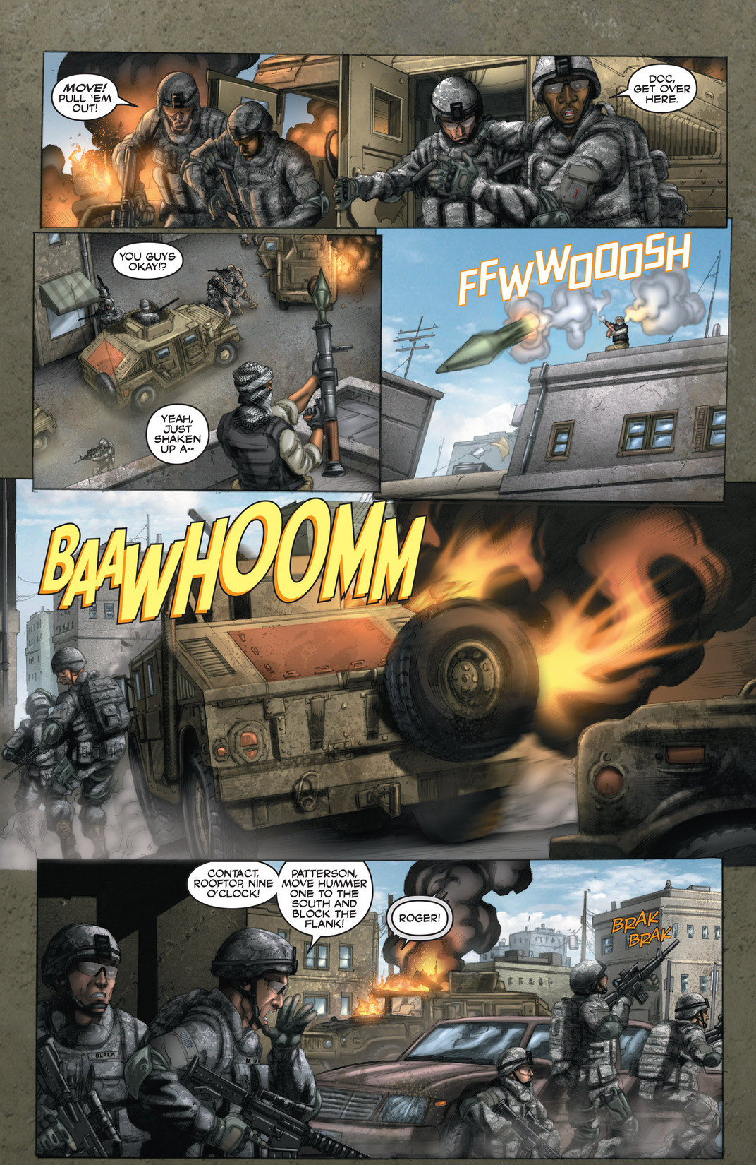 Read online America's Army comic -  Issue #13 - 13