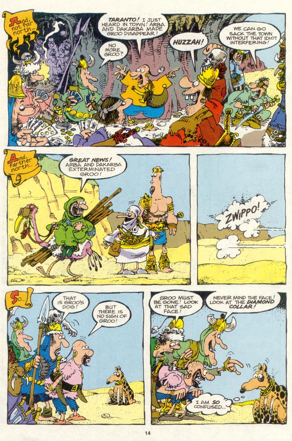 Read online Sergio Aragonés Groo the Wanderer comic -  Issue #85 - 11