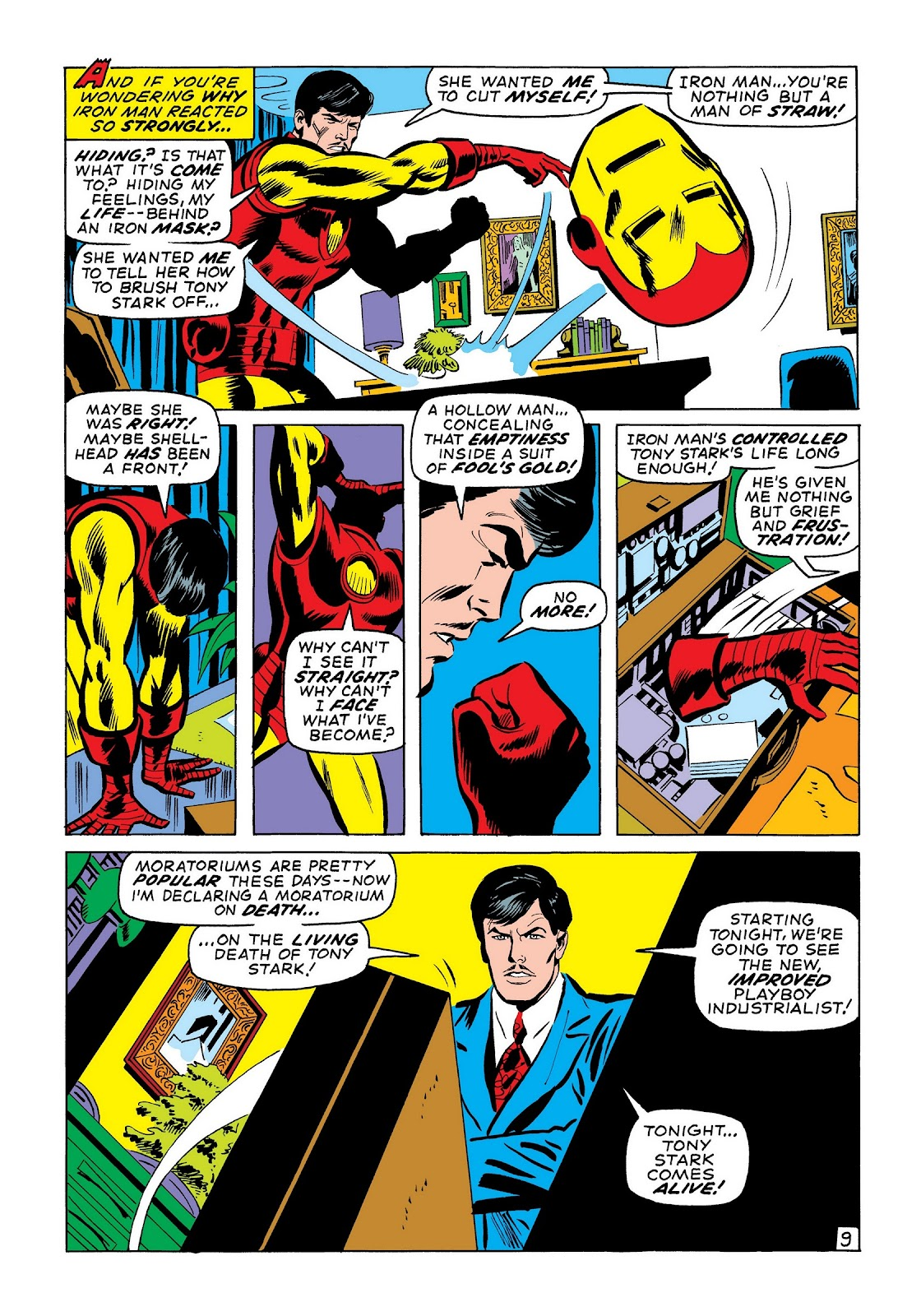Read online Marvel Masterworks: The Invincible Iron Man comic -  Issue # TPB 7 (Part 3) - 38
