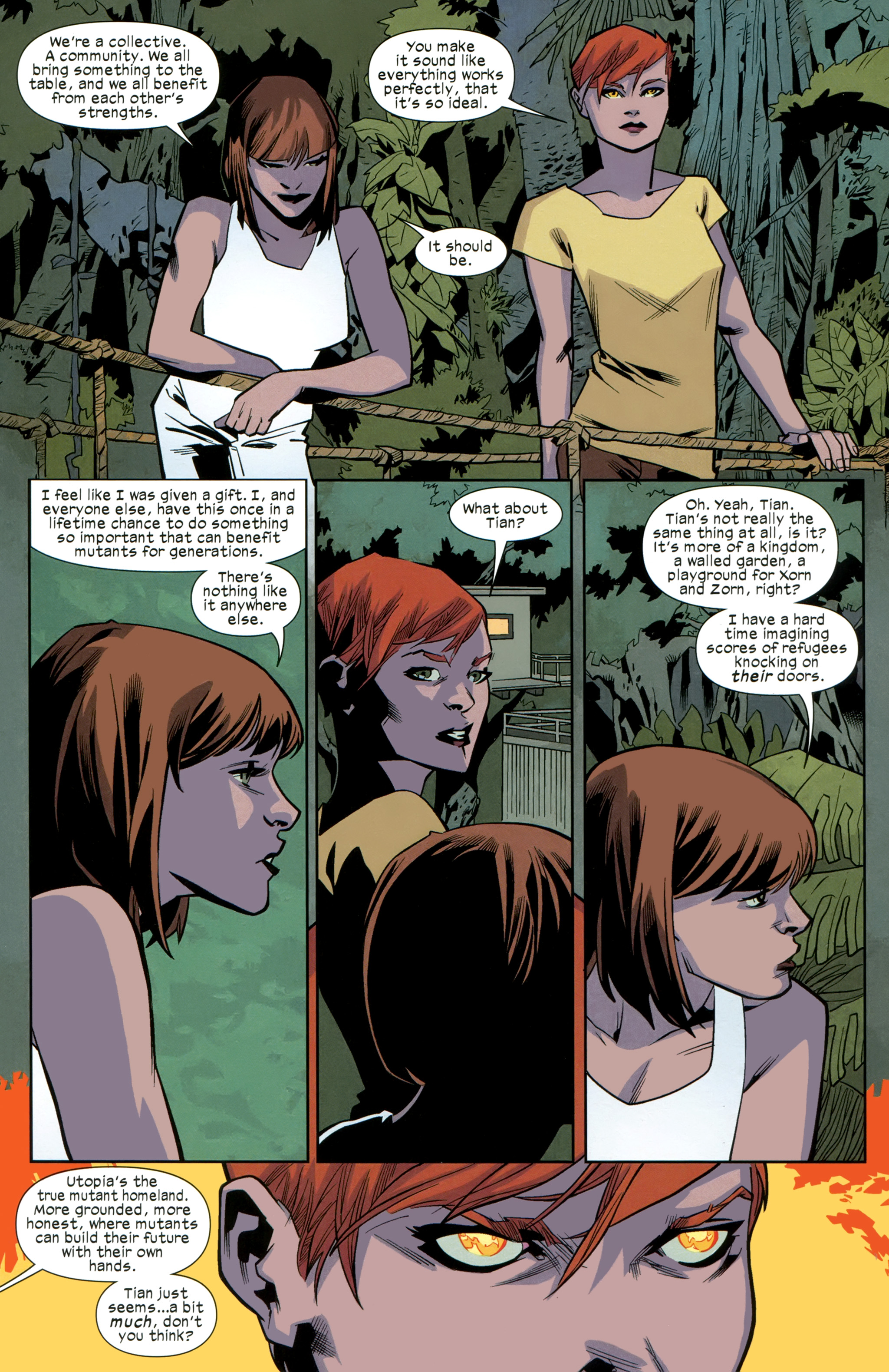 Read online Ultimate Comics X-Men comic -  Issue #25 - 19