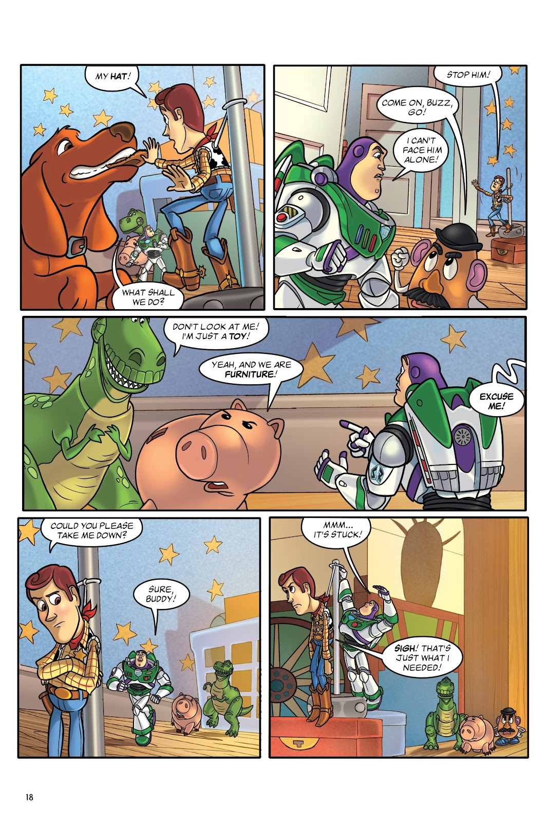Read online DISNEY·PIXAR Toy Story Adventures comic -  Issue # TPB 1 (Part 1) - 18