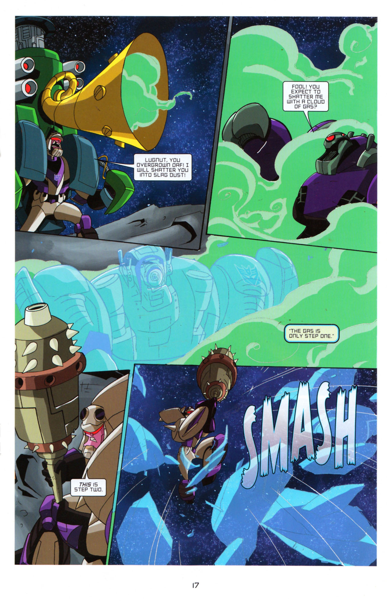 Read online Transformers Animated: The Arrival comic -  Issue #5 - 21