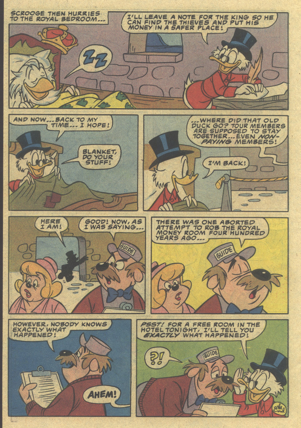 Read online Uncle Scrooge (1953) comic -  Issue #197 - 22