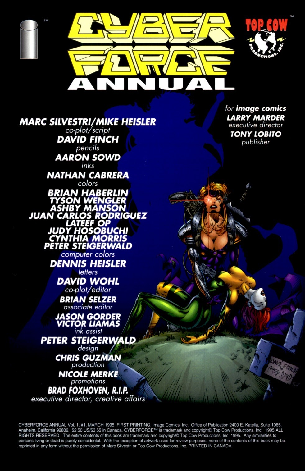 Read online Cyberforce (1993) comic -  Issue # Annual 1 - 2