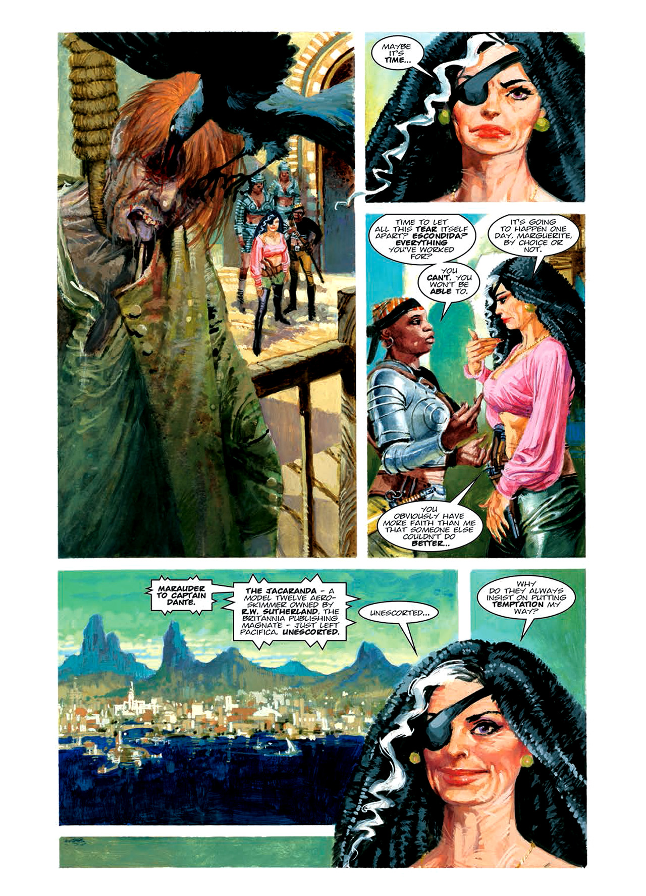 Read online Nikolai Dante comic -  Issue # TPB 6 - 118