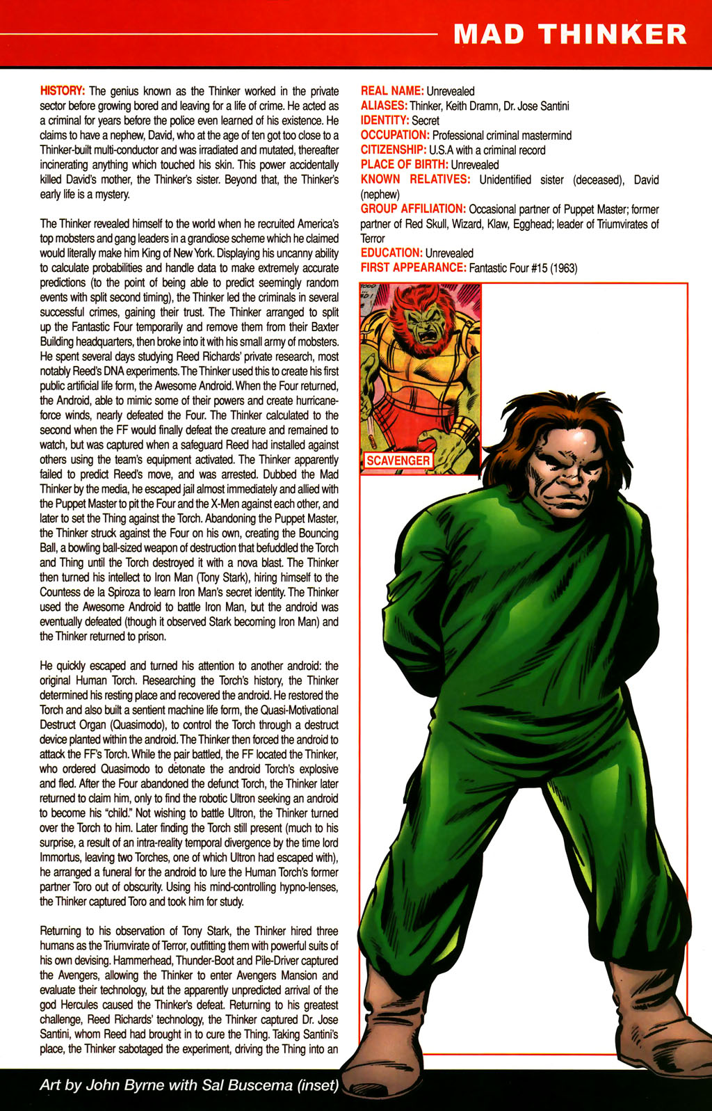 Read online All-New Official Handbook of the Marvel Universe A to Z comic -  Issue #6 - 51