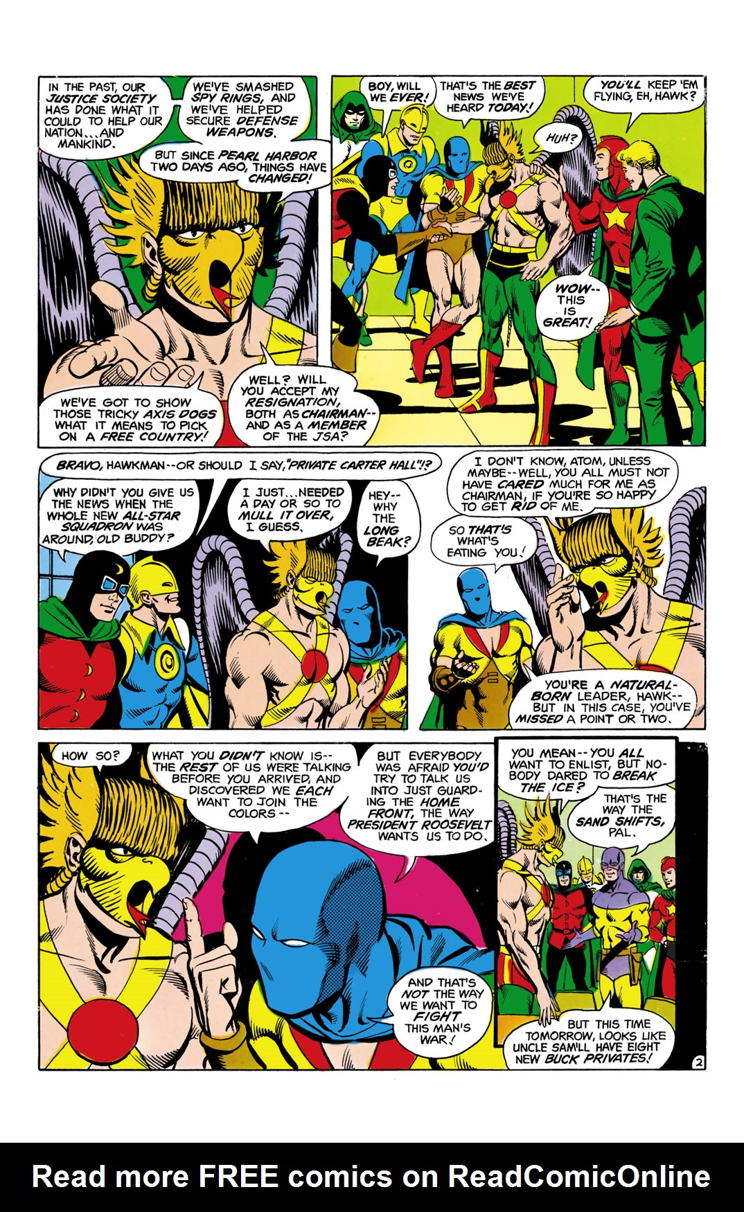 Read online All-Star Squadron comic -  Issue #5 - 3
