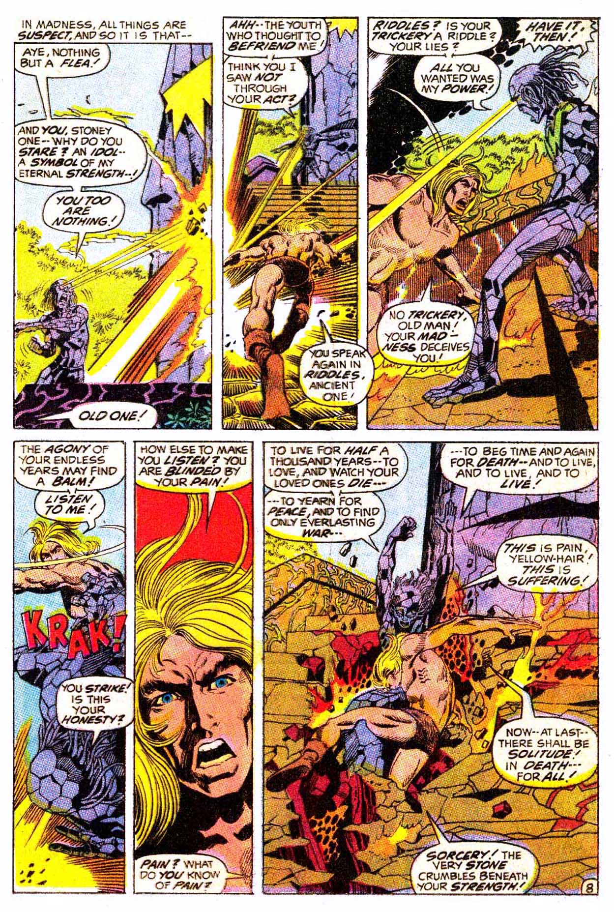 Read online Astonishing Tales (1970) comic -  Issue #5 - 19