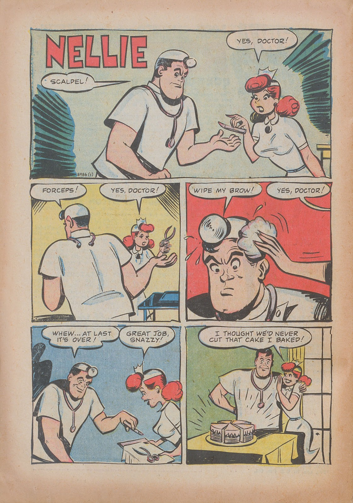 Read online Nellie The Nurse (1945) comic -  Issue #31 - 26