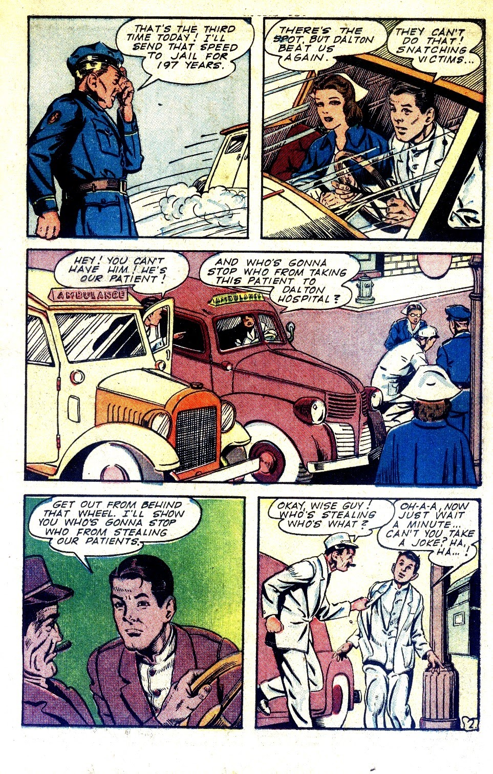 Read online Nellie The Nurse (1945) comic -  Issue #2 - 19