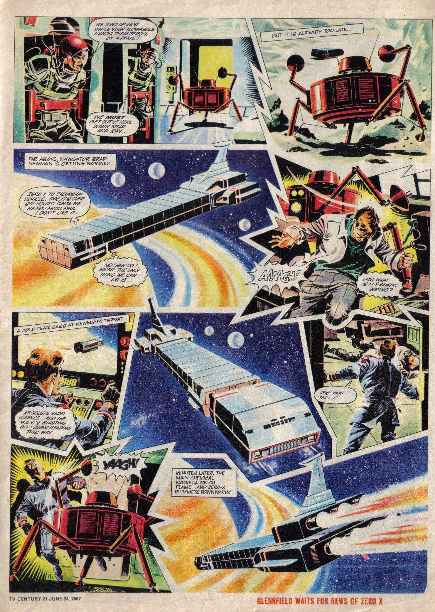 Read online TV Century 21 (TV 21) comic -  Issue #127 - 5