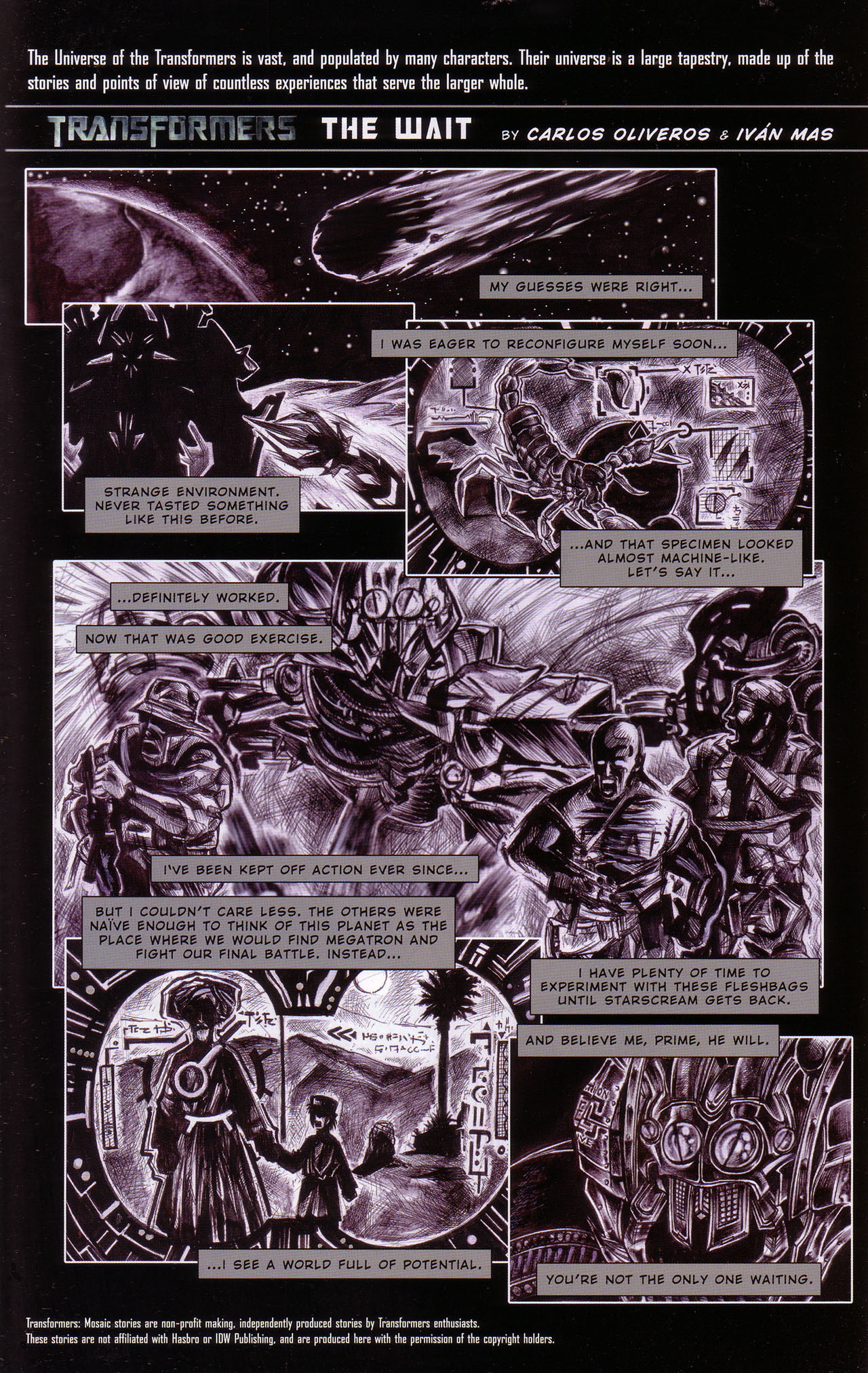 Read online Transformers: Saga of the Allspark comic -  Issue #1 - 22