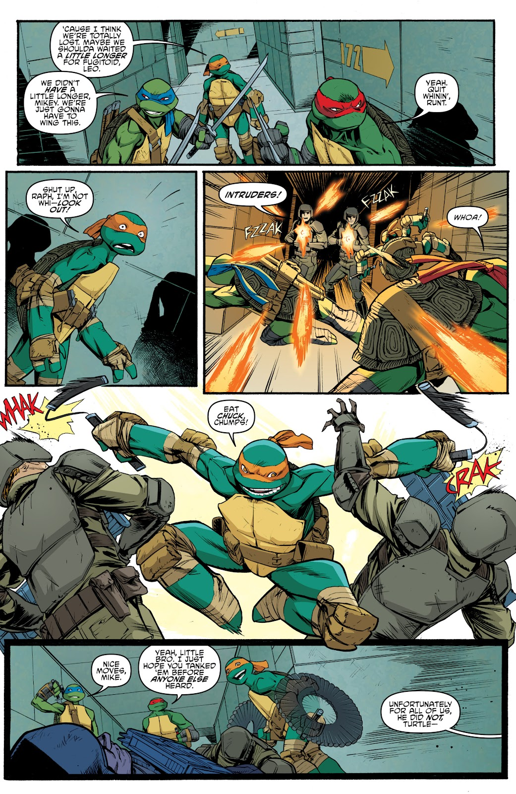 Read online Teenage Mutant Ninja Turtles: The IDW Collection comic -  Issue # TPB 5 (Part 4) - 26