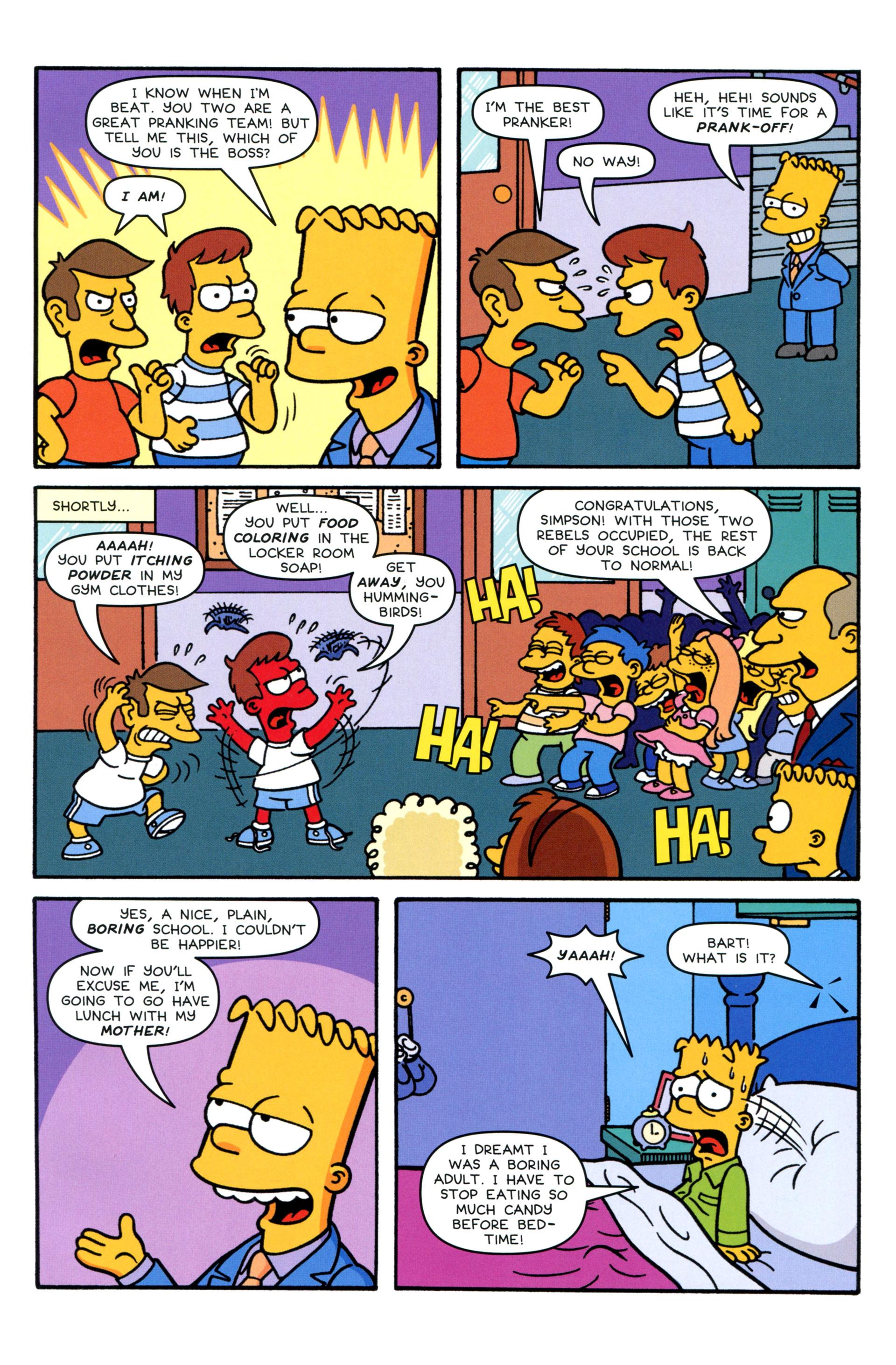 Read online Simpsons Comics comic -  Issue #207 - 9