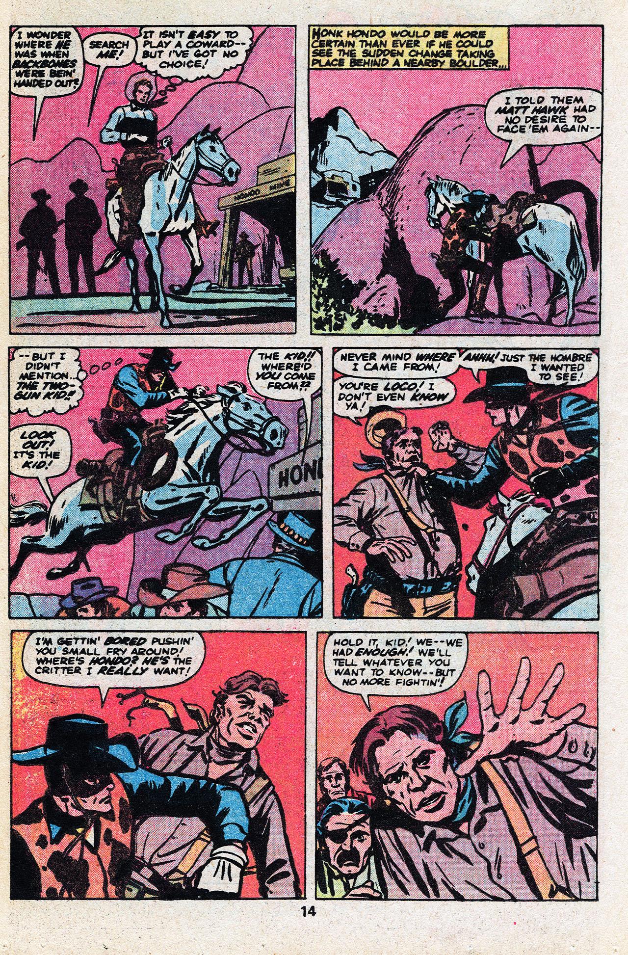 Read online Two-Gun Kid comic -  Issue #136 - 16