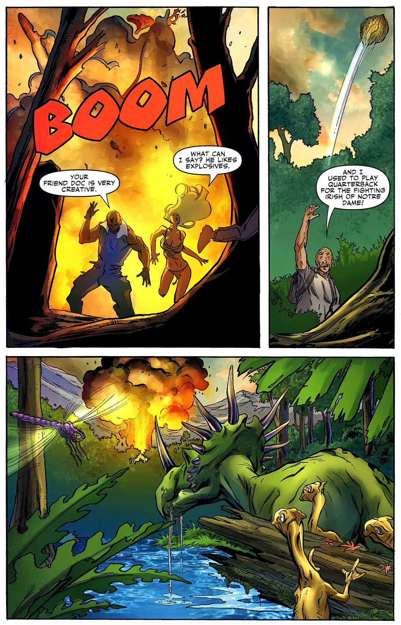 Read online Shanna the She-Devil: Survival of the Fittest comic -  Issue #4 - 16
