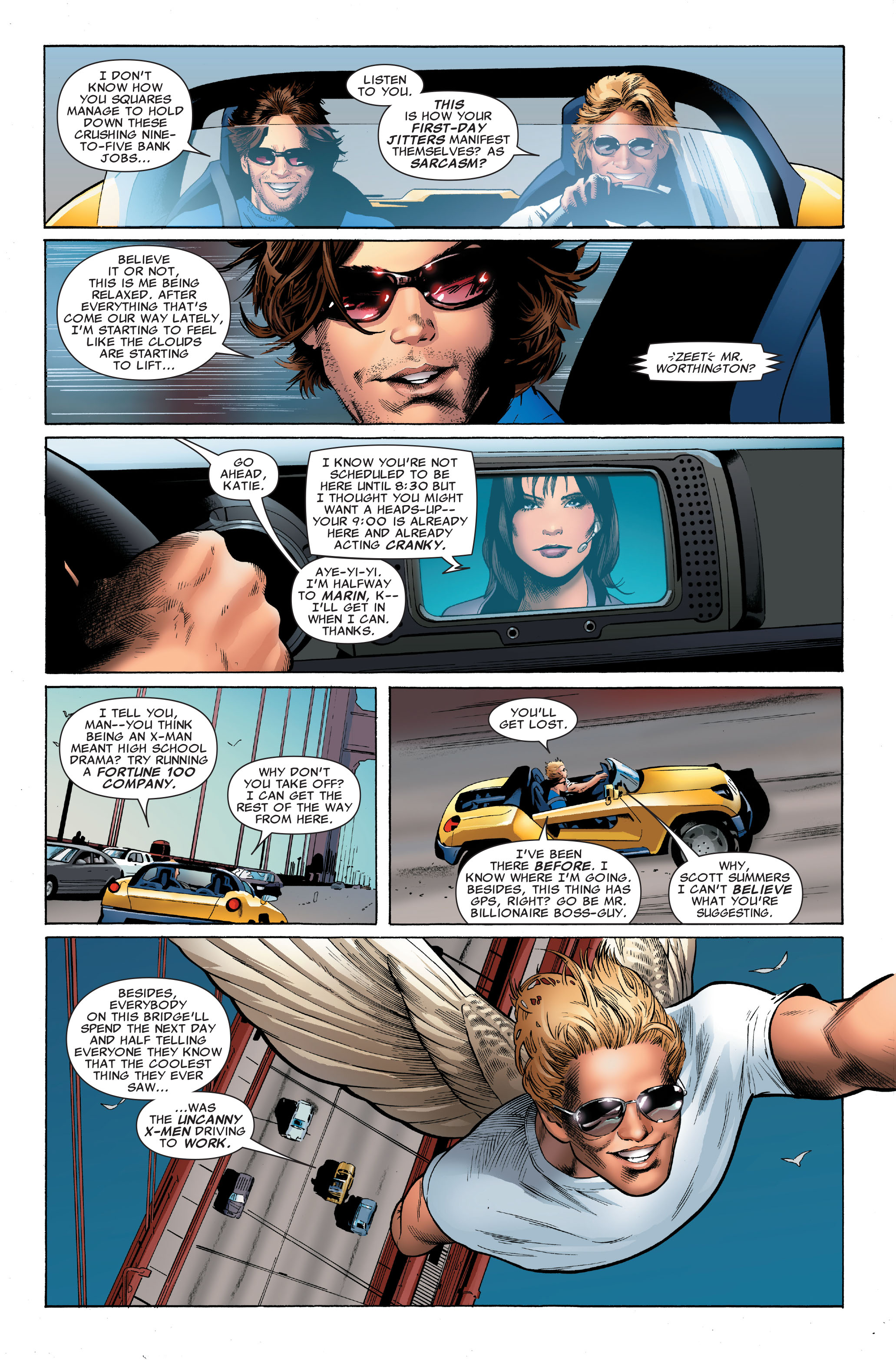 Read online Uncanny X-Men (1963) comic -  Issue #501 - 11