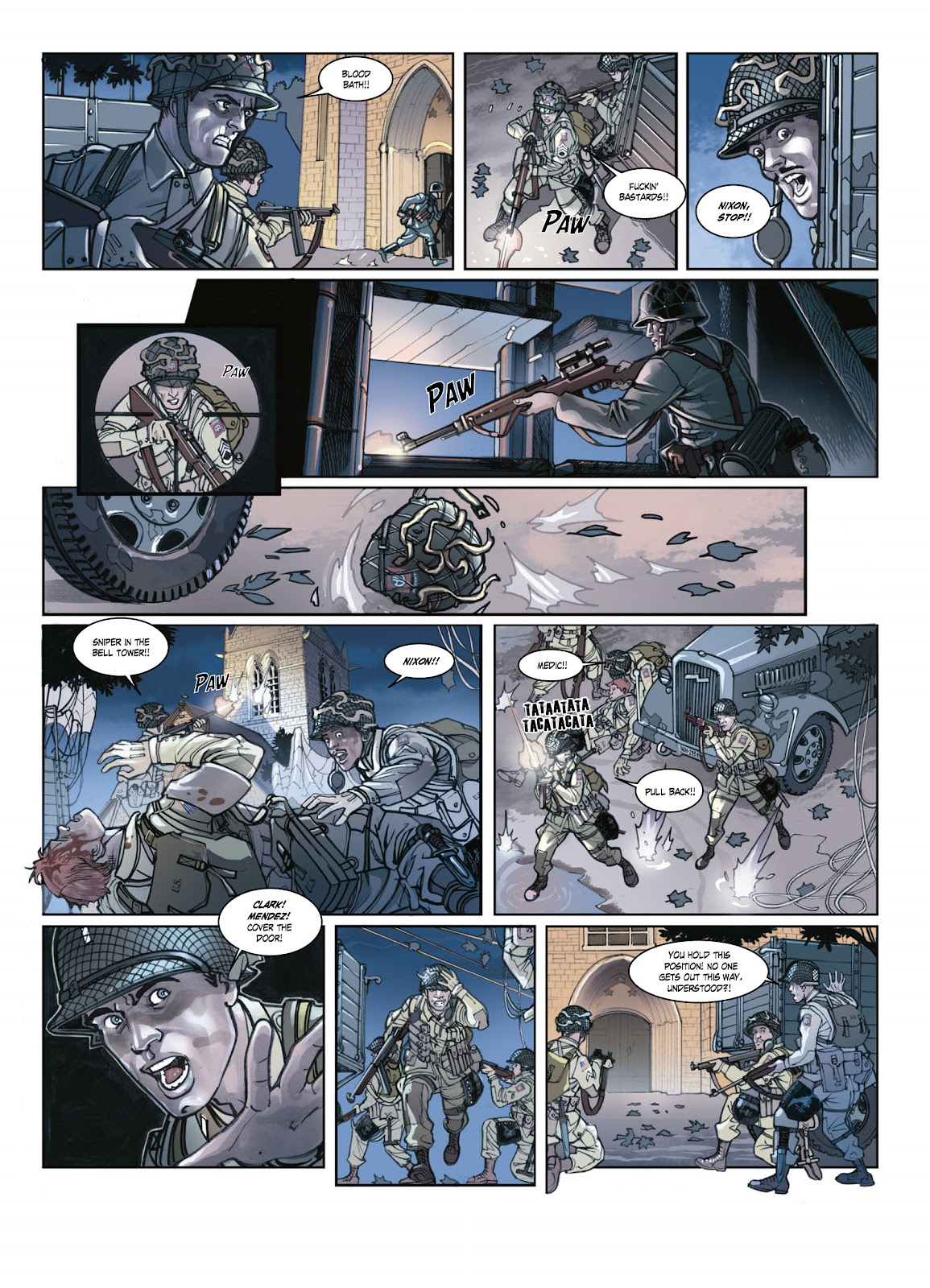 Read online Opération Overlord comic -  Issue #1 - 37