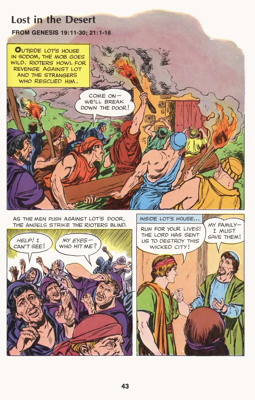 The Picture Bible issue TPB (Part 1) - Page 45