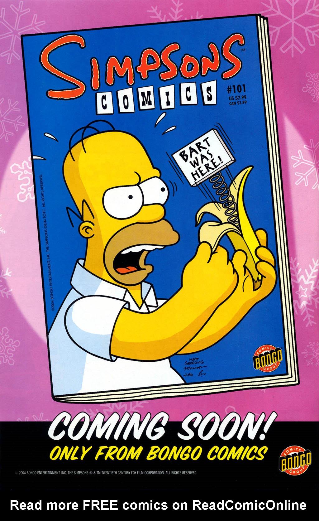 Read online Simpsons Comics Presents Bart Simpson comic -  Issue #21 - 2