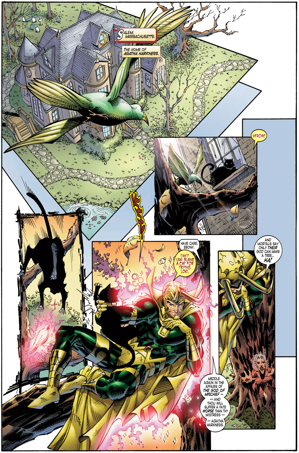 Read online Avengers (1996) comic -  Issue #4 - 12