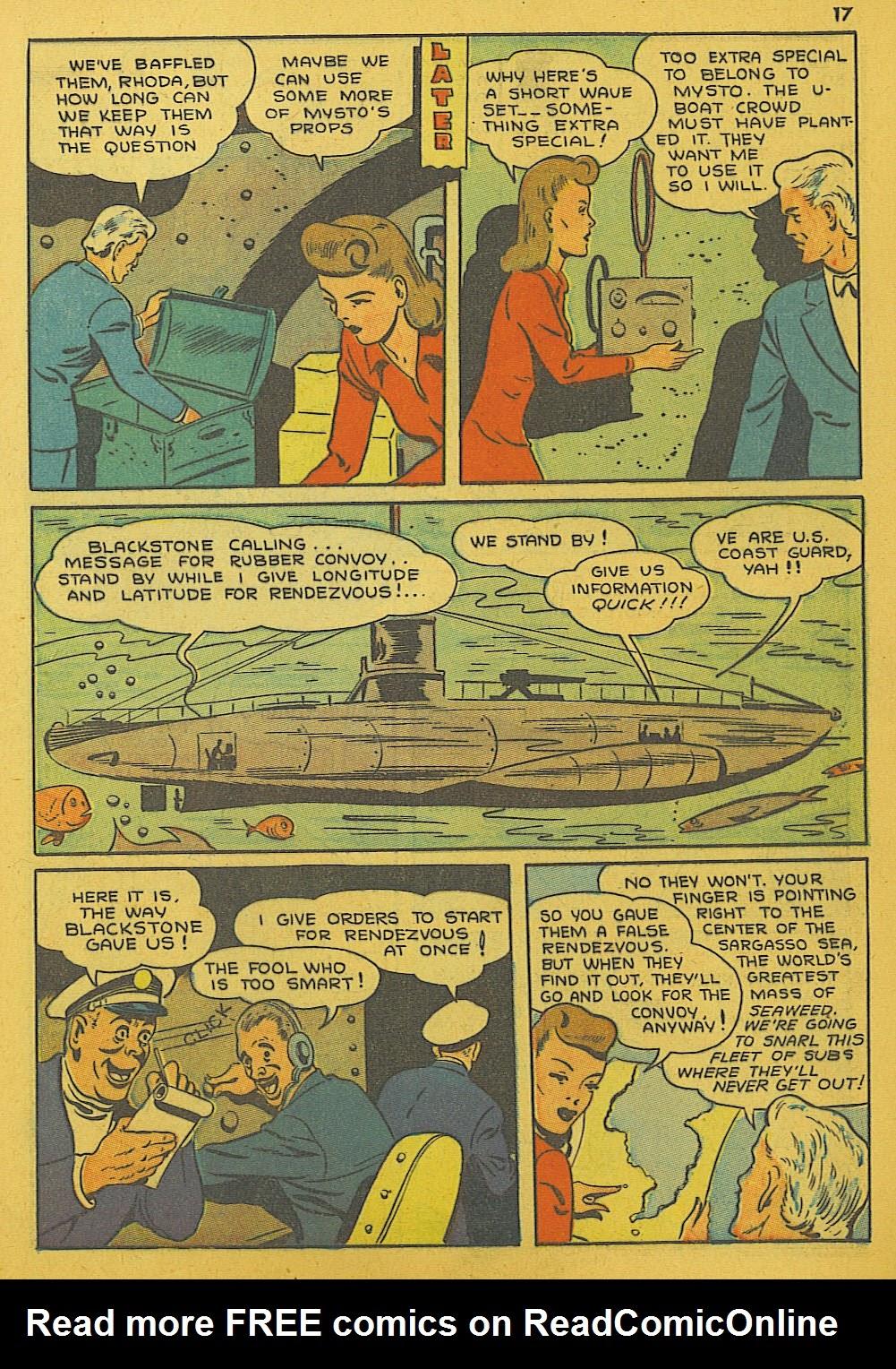 Read online Super-Magician Comics comic -  Issue #10 - 17