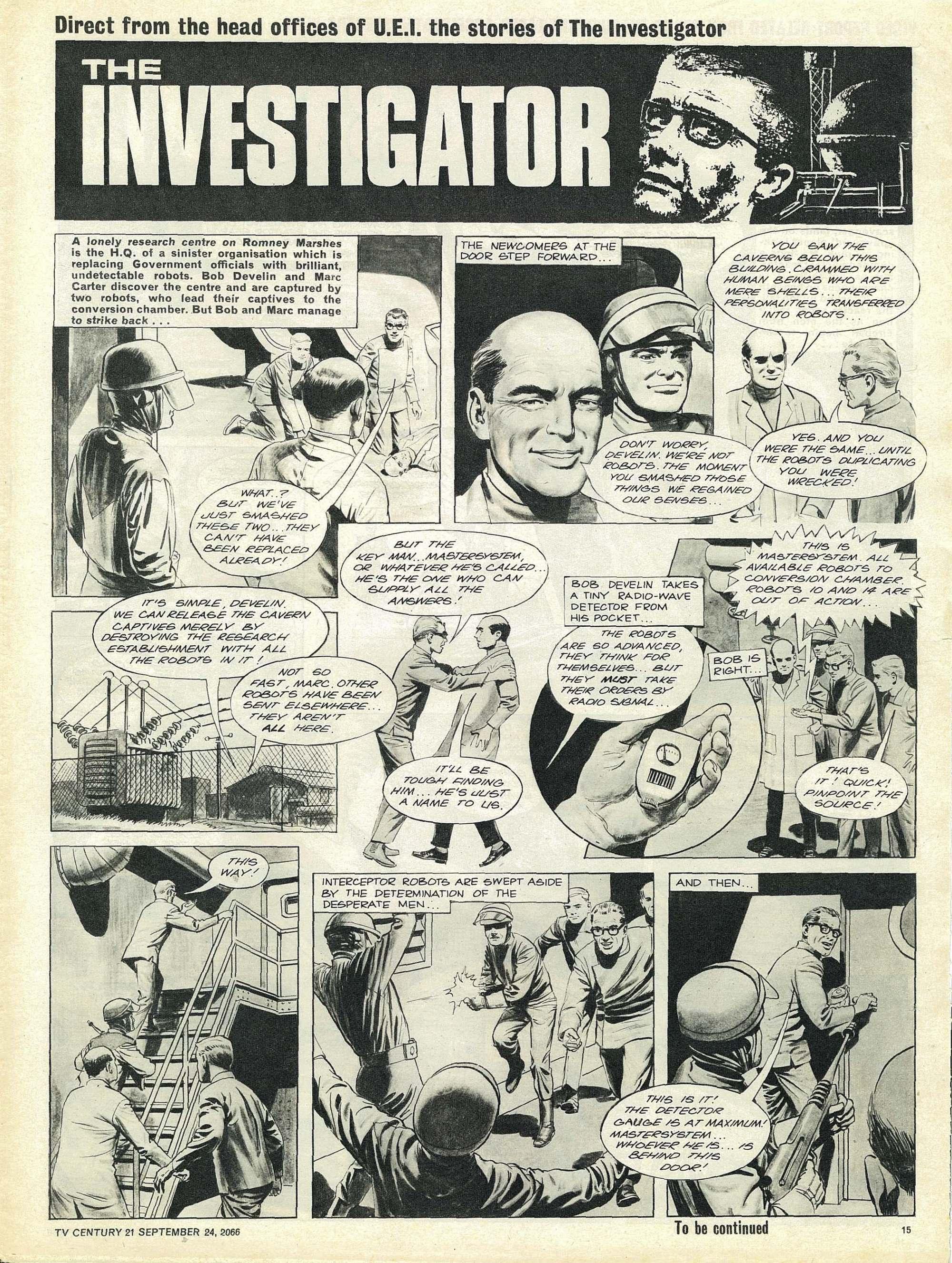Read online TV Century 21 (TV 21) comic -  Issue #88 - 14