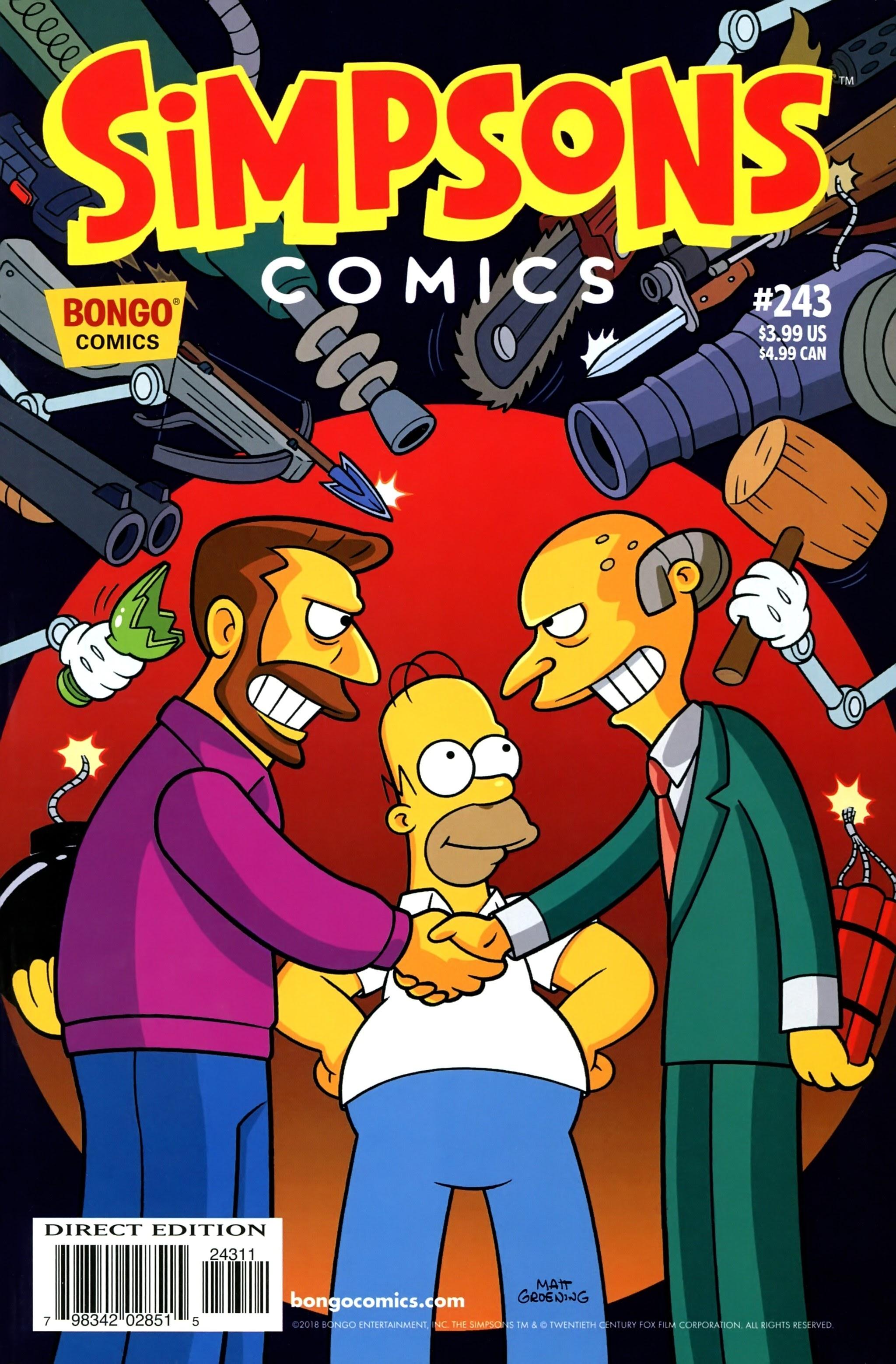 Simpsons Comics 243 Page 1