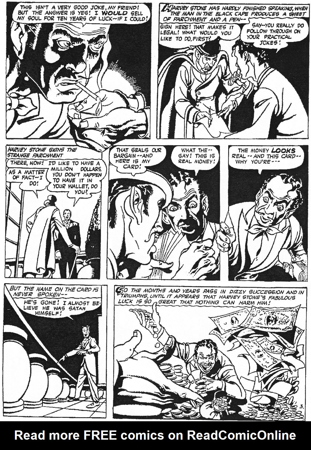 Read online Men of Mystery Comics comic -  Issue #76 - 17