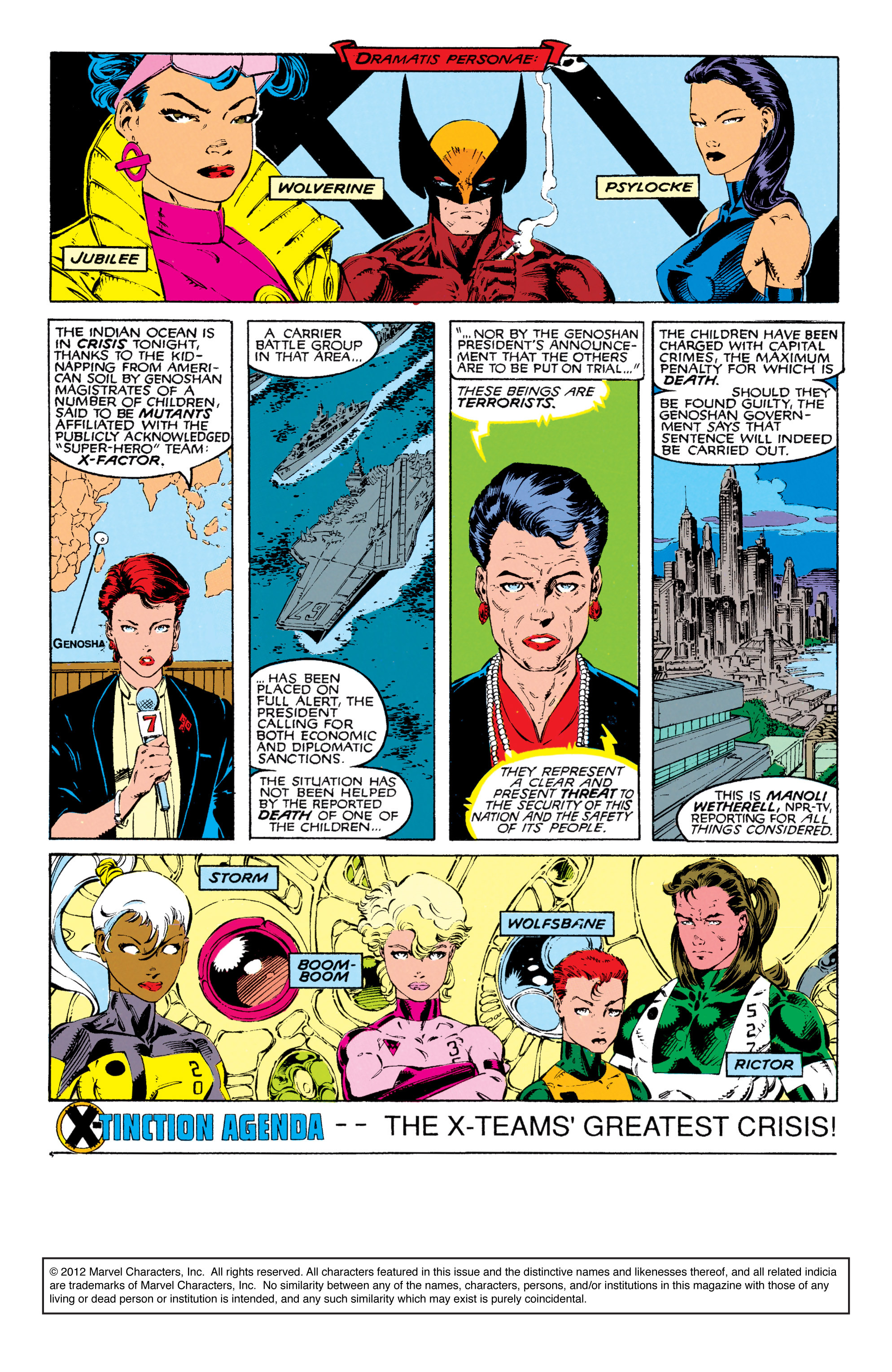 Read online Uncanny X-Men (1963) comic -  Issue #271 - 2