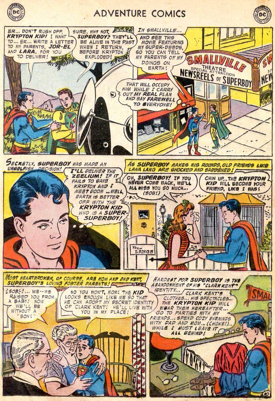 Read online Adventure Comics (1938) comic -  Issue #242 - 12