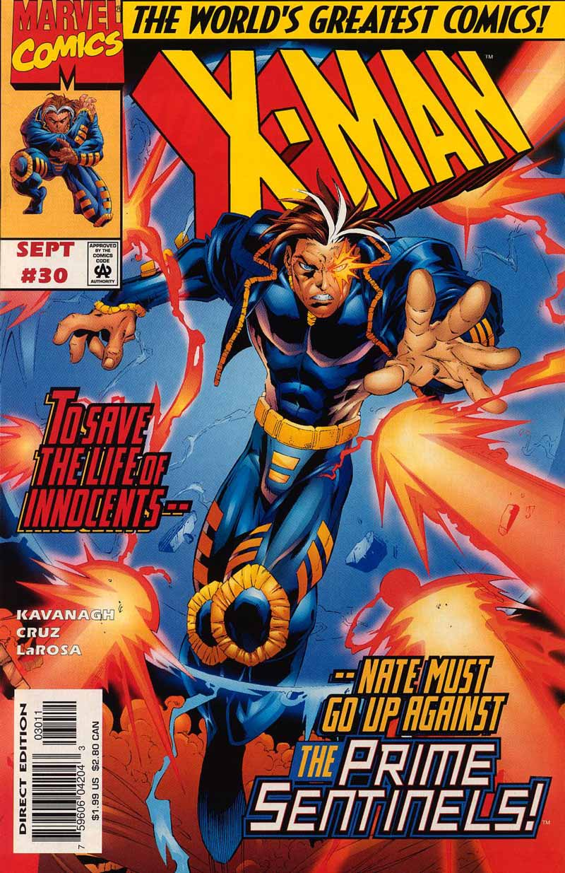 X-Man 30 Page 1