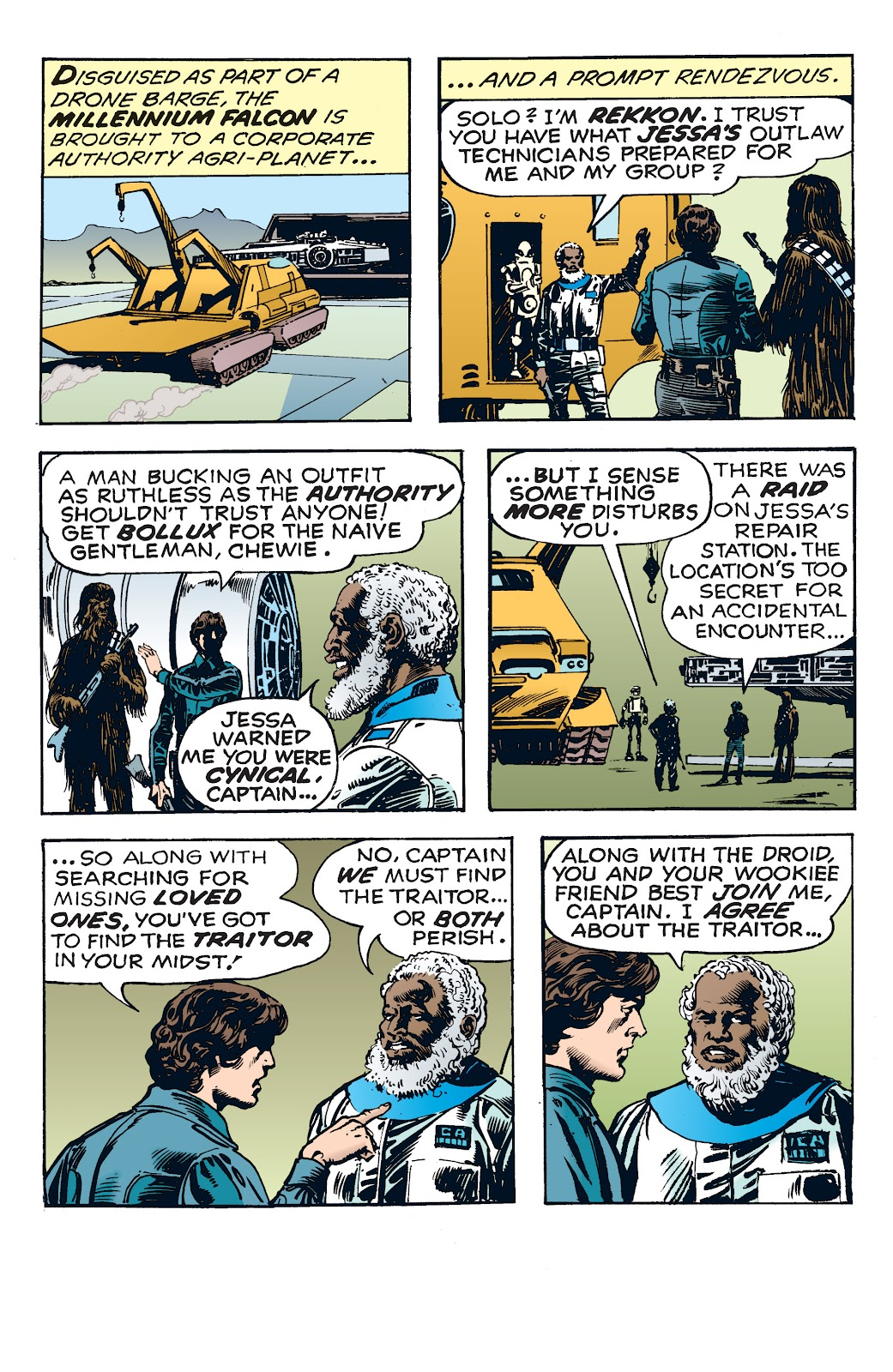 Read online Star Wars Legends: The Newspaper Strips - Epic Collection comic -  Issue # TPB (Part 4) - 23