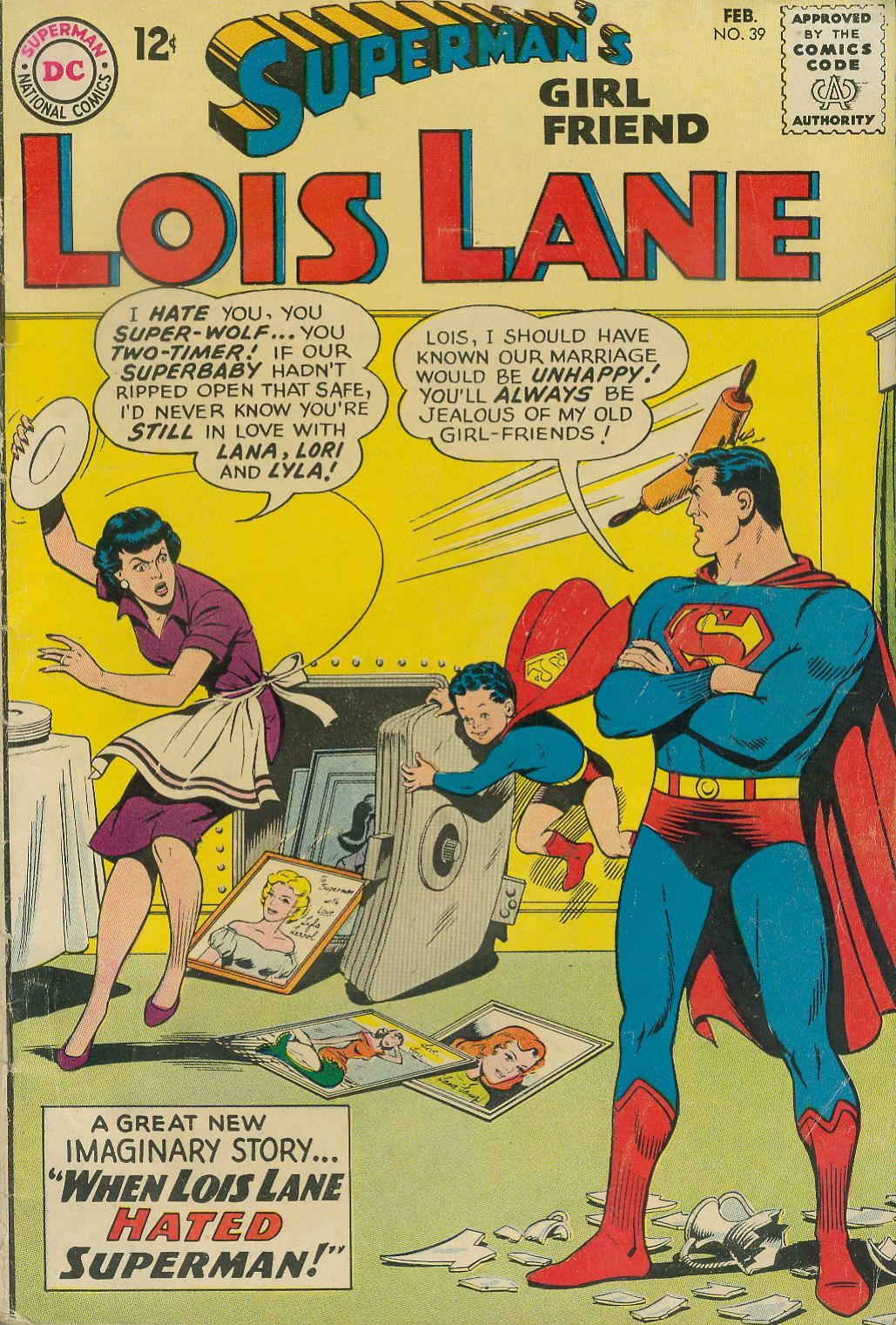 Supermans Girl Friend, Lois Lane 39 Page 1