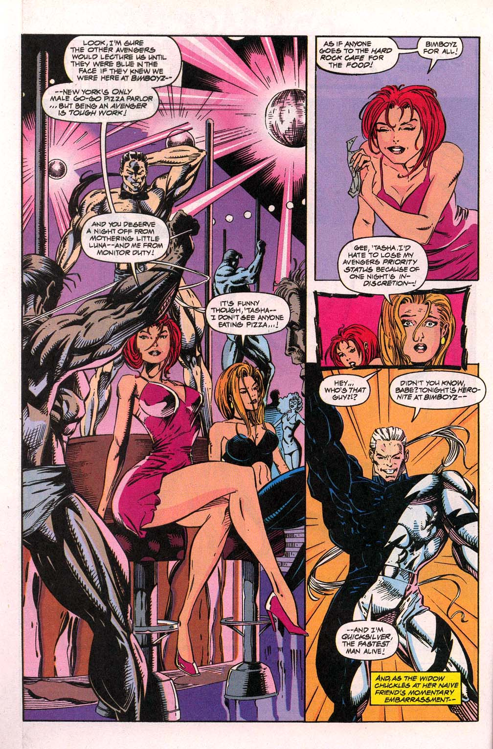 Avengers Unplugged issue 3 - Page 3