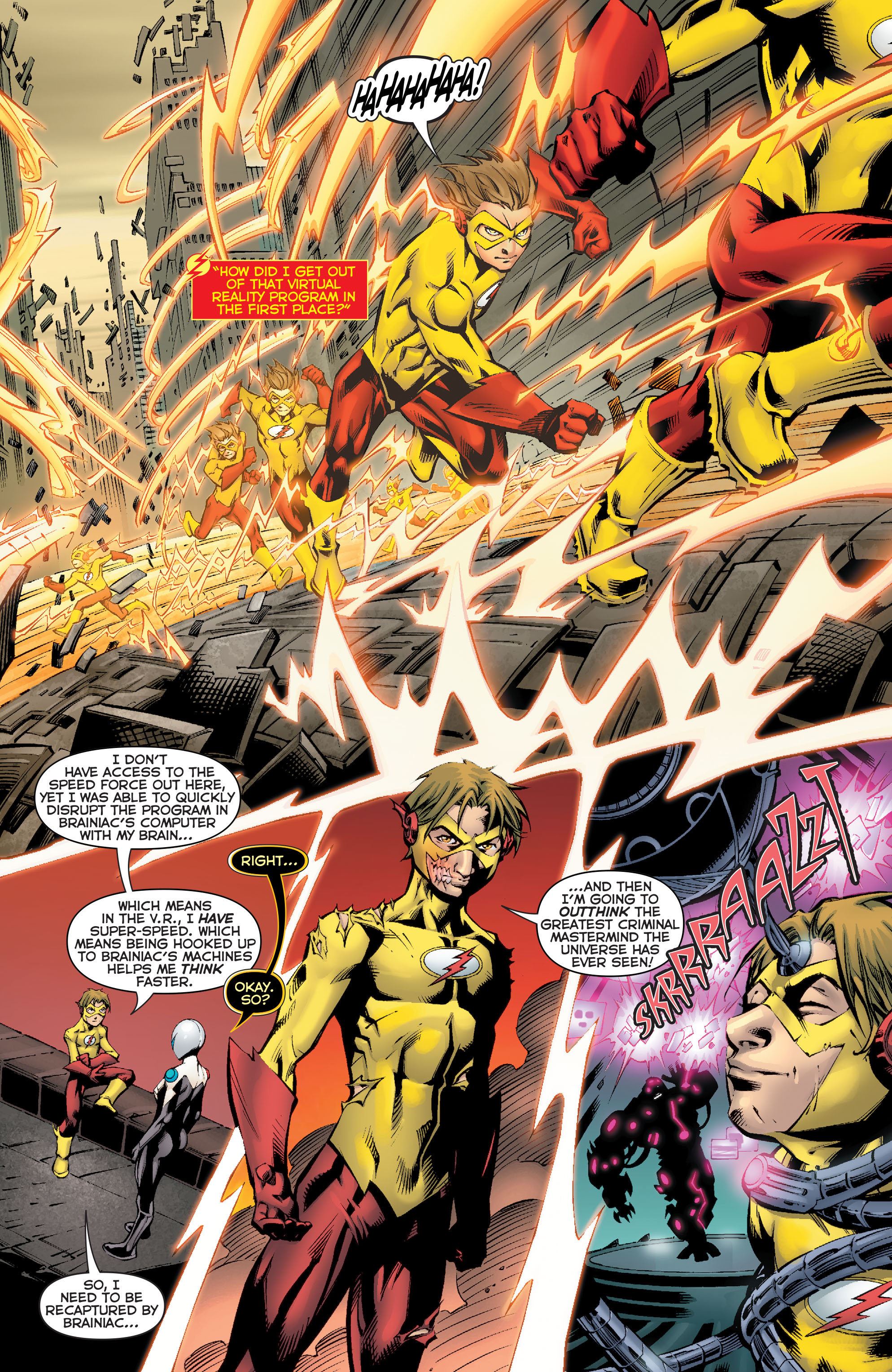 Read online Flashpoint: Kid Flash Lost comic -  Issue #2 - 15