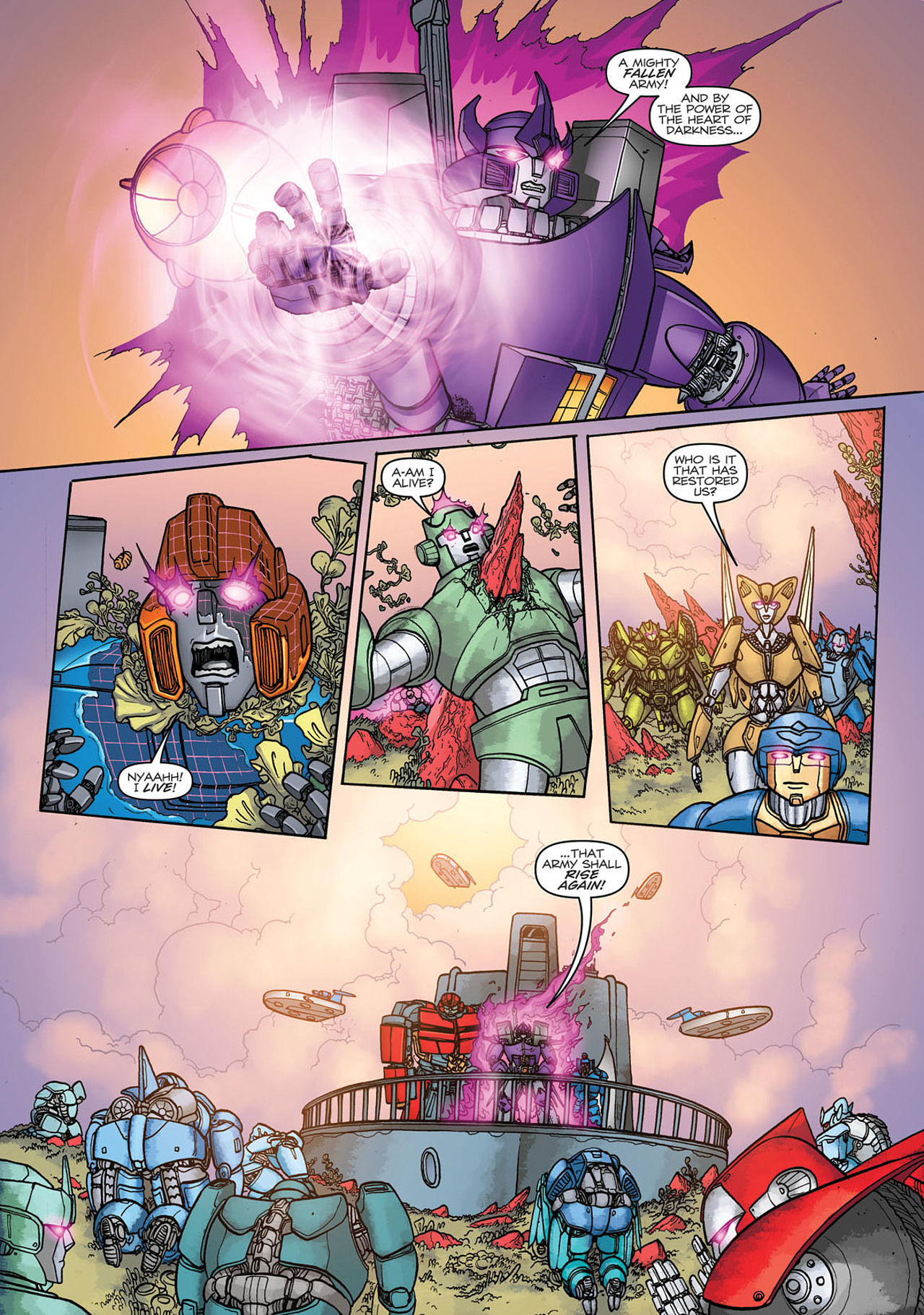 Read online Transformers: Heart of Darkness comic -  Issue #3 - 16