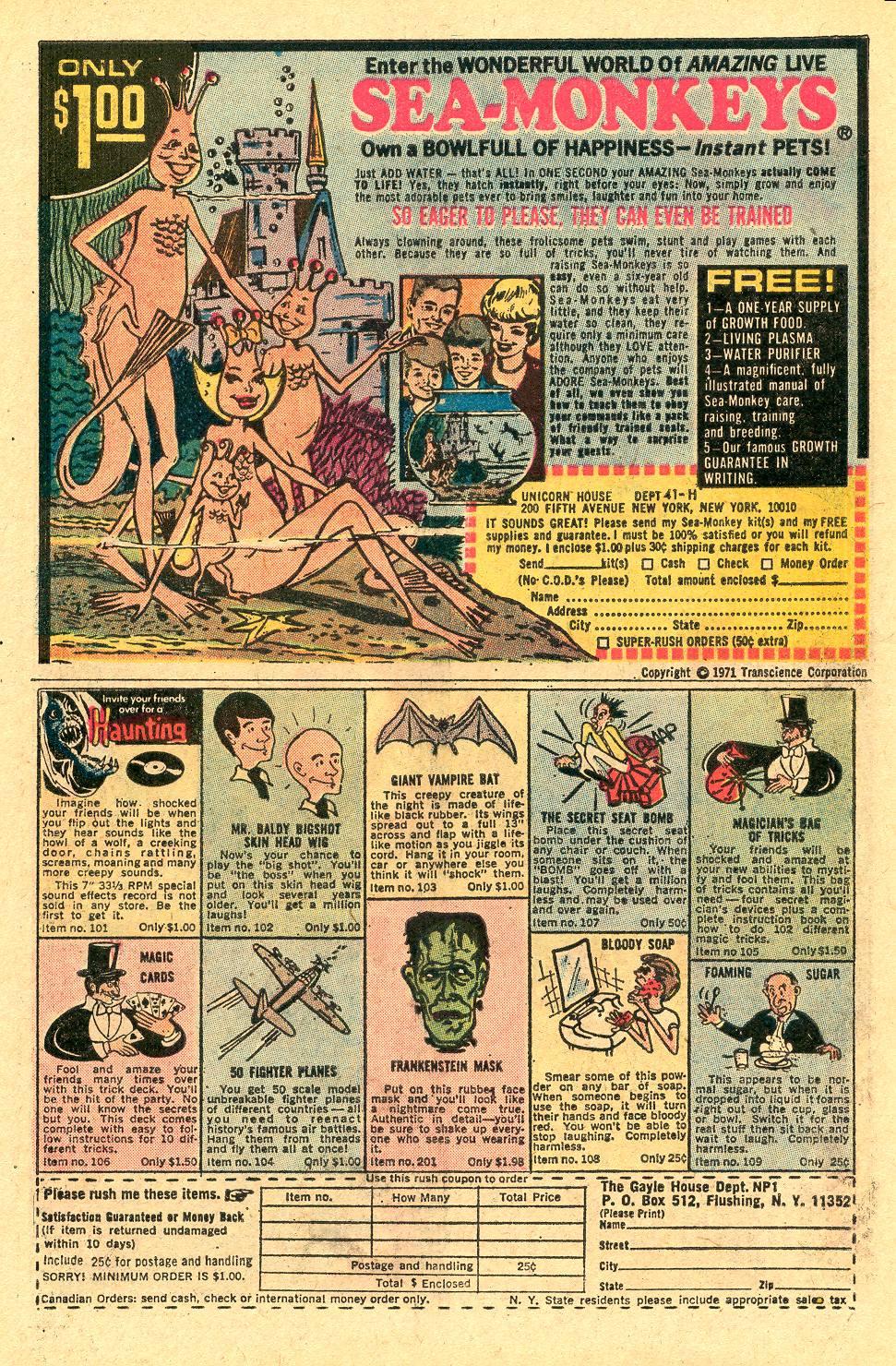 Read online Secret Origins (1973) comic -  Issue #4 - 30