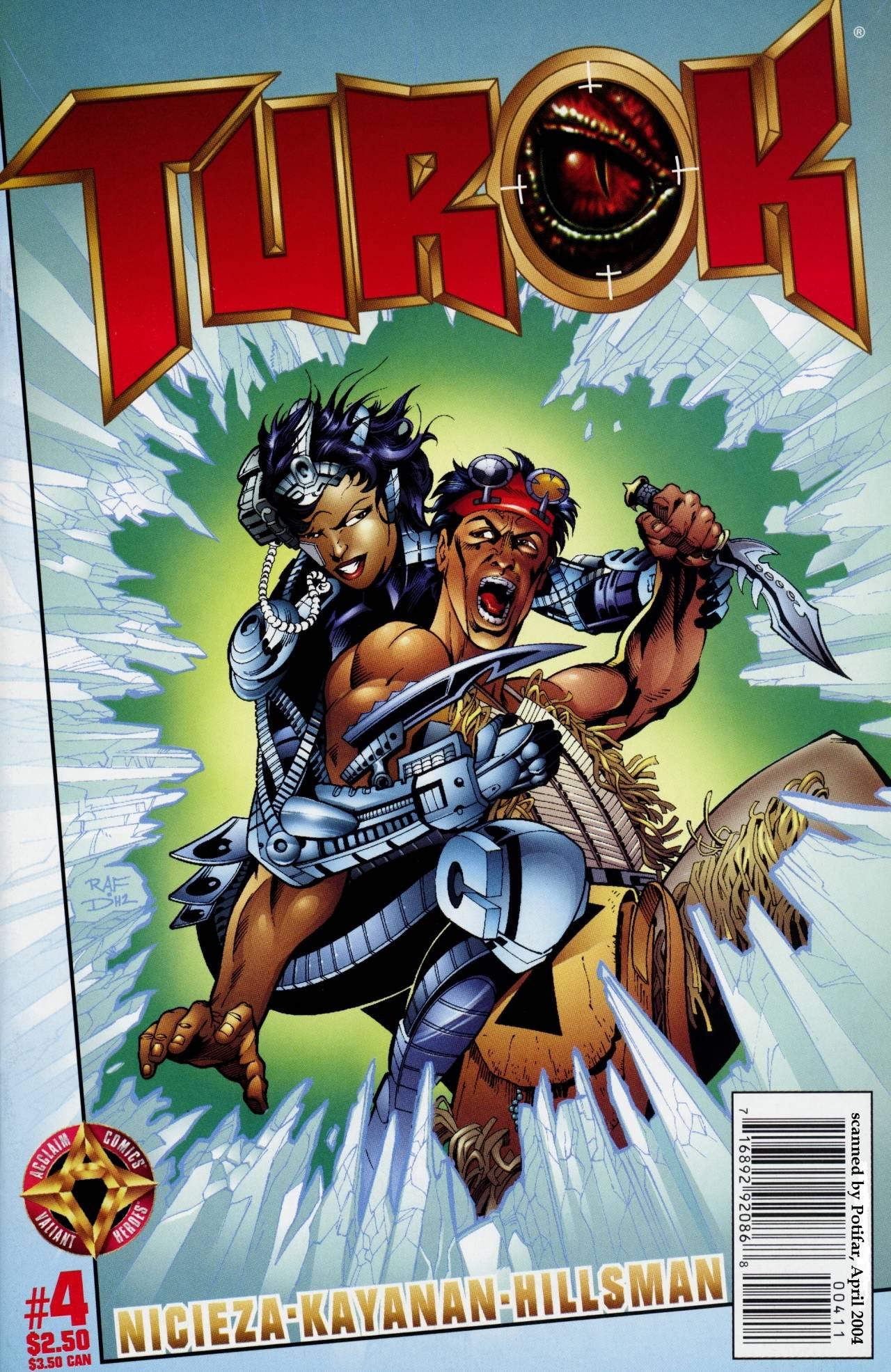 Read online Turok comic -  Issue #4 - 1