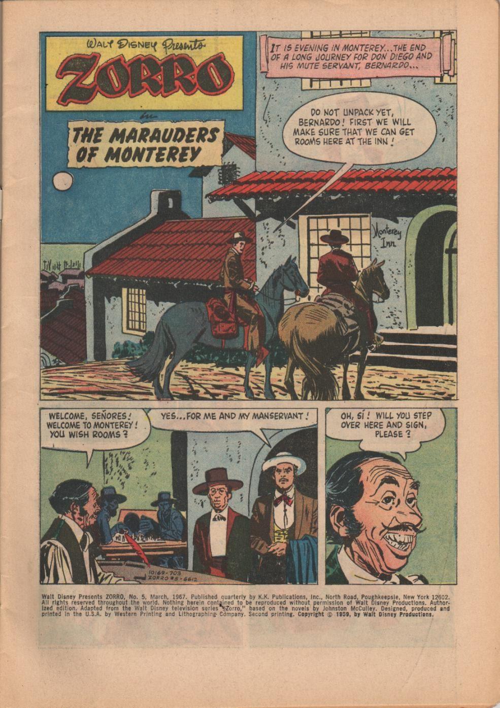 Zorro (1966) issue 5 - Page 3