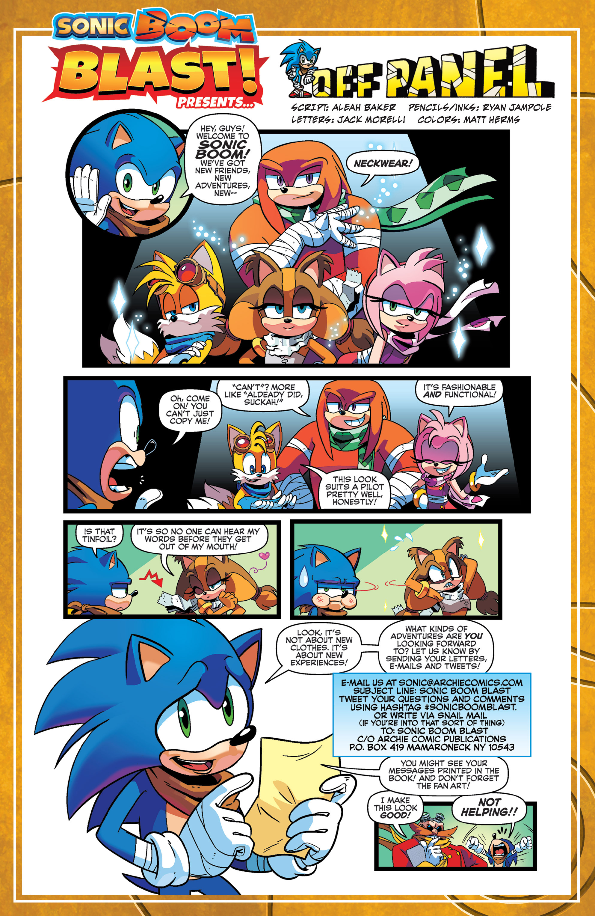 Read online Sonic Boom comic -  Issue #1 - 23