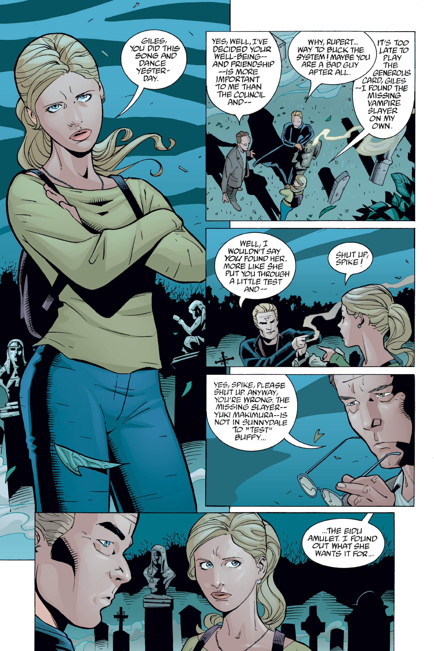 Read online Buffy the Vampire Slayer: Omnibus comic -  Issue # TPB 6 - 361