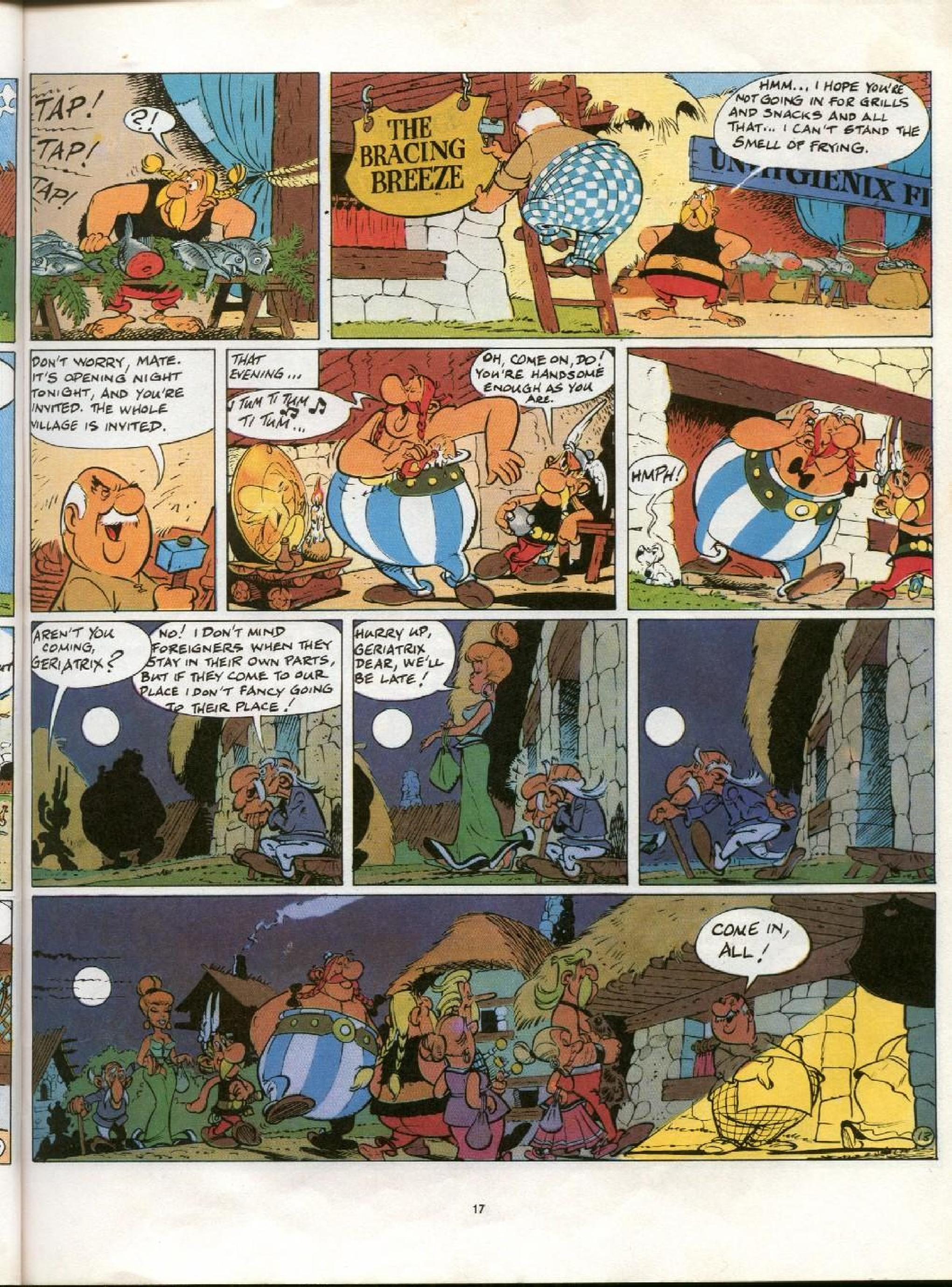 Read online Asterix comic -  Issue #21 - 14