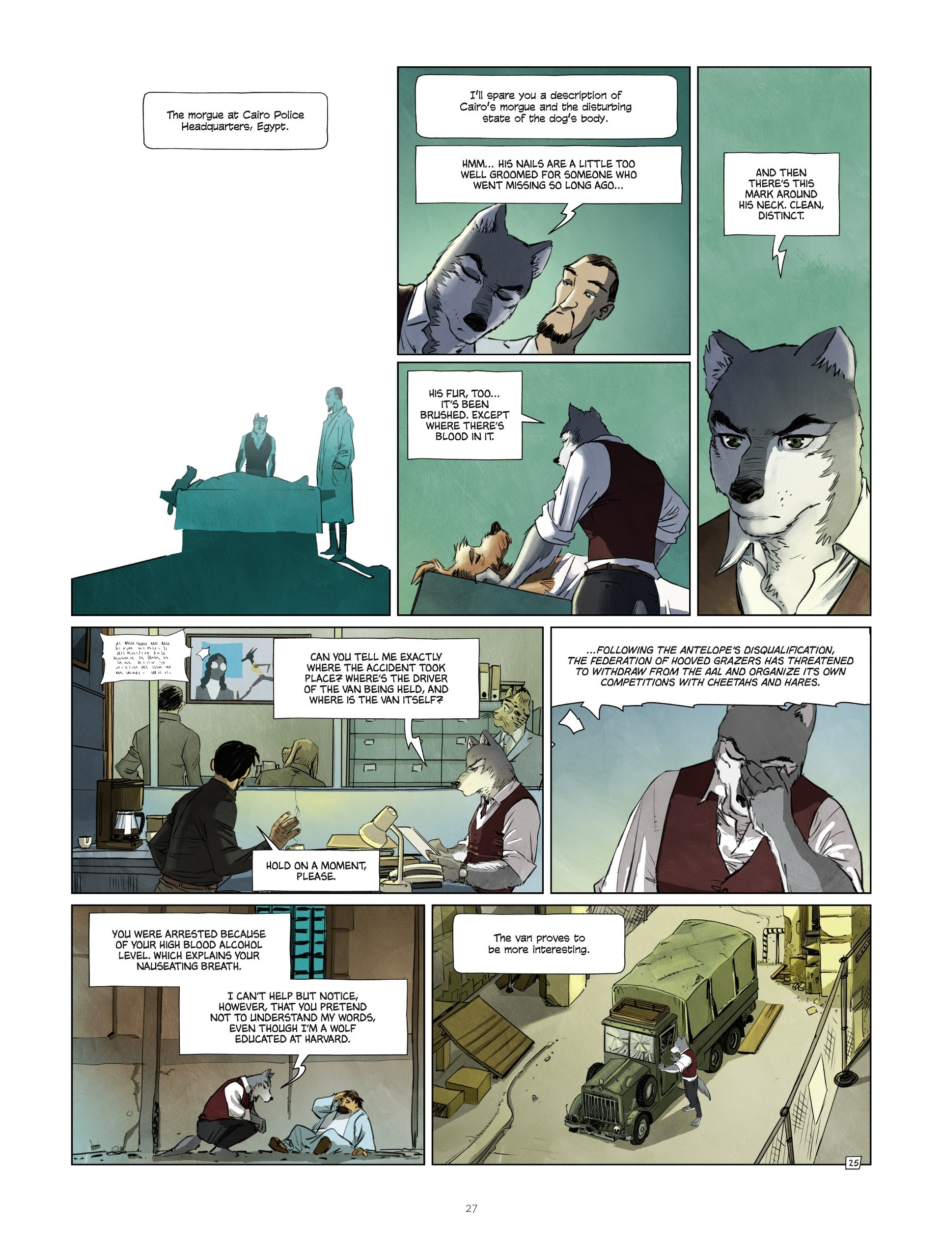 Read online Jack Wolfgang comic -  Issue #3 - 29