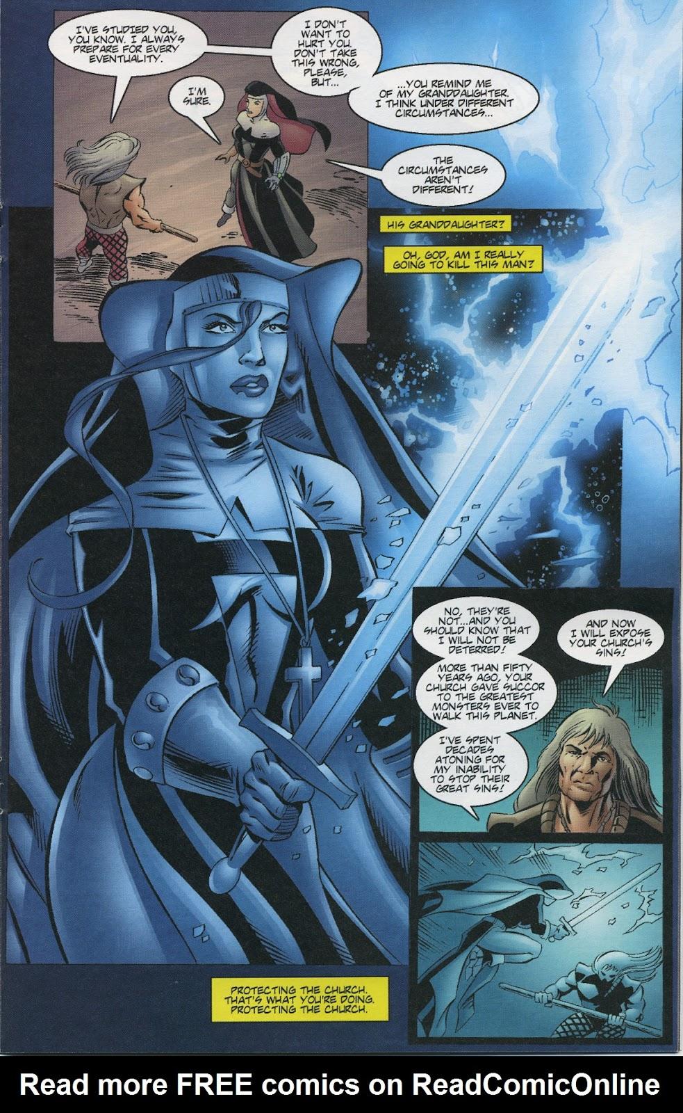 Warrior Nun Areala (1997) Issue #3 #3 - English 15