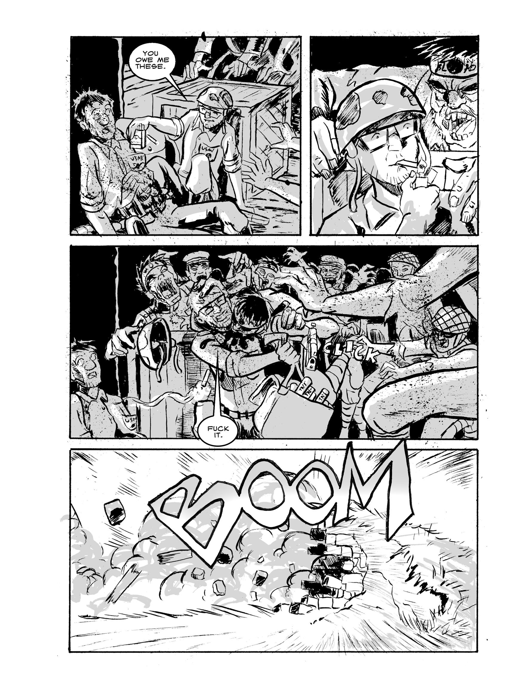 Read online FUBAR comic -  Issue #2 - 160