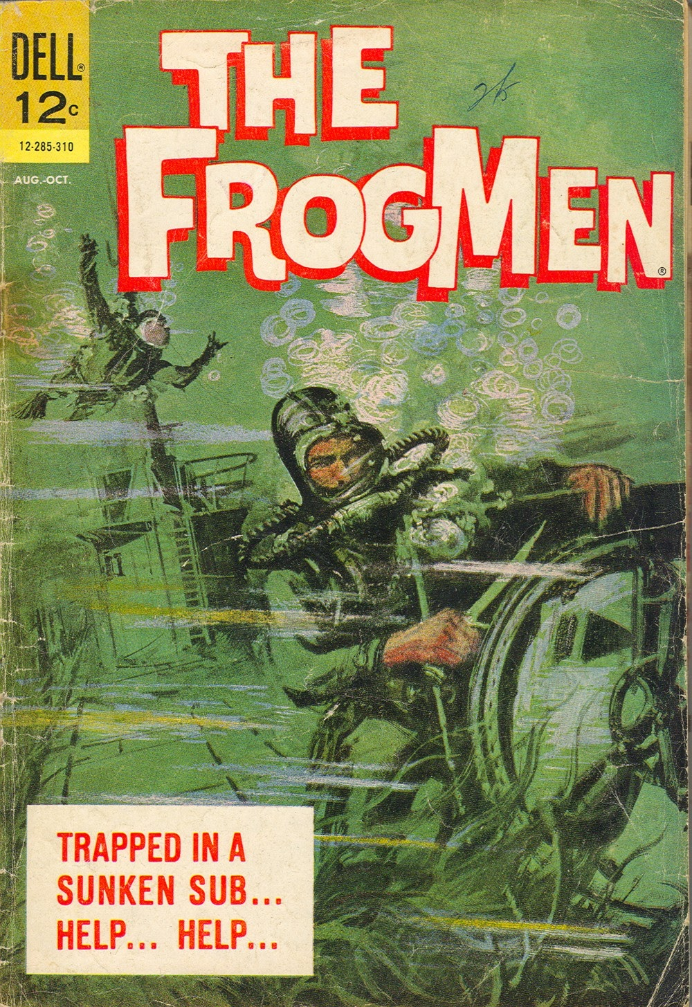 The Frogmen 6 Page 1