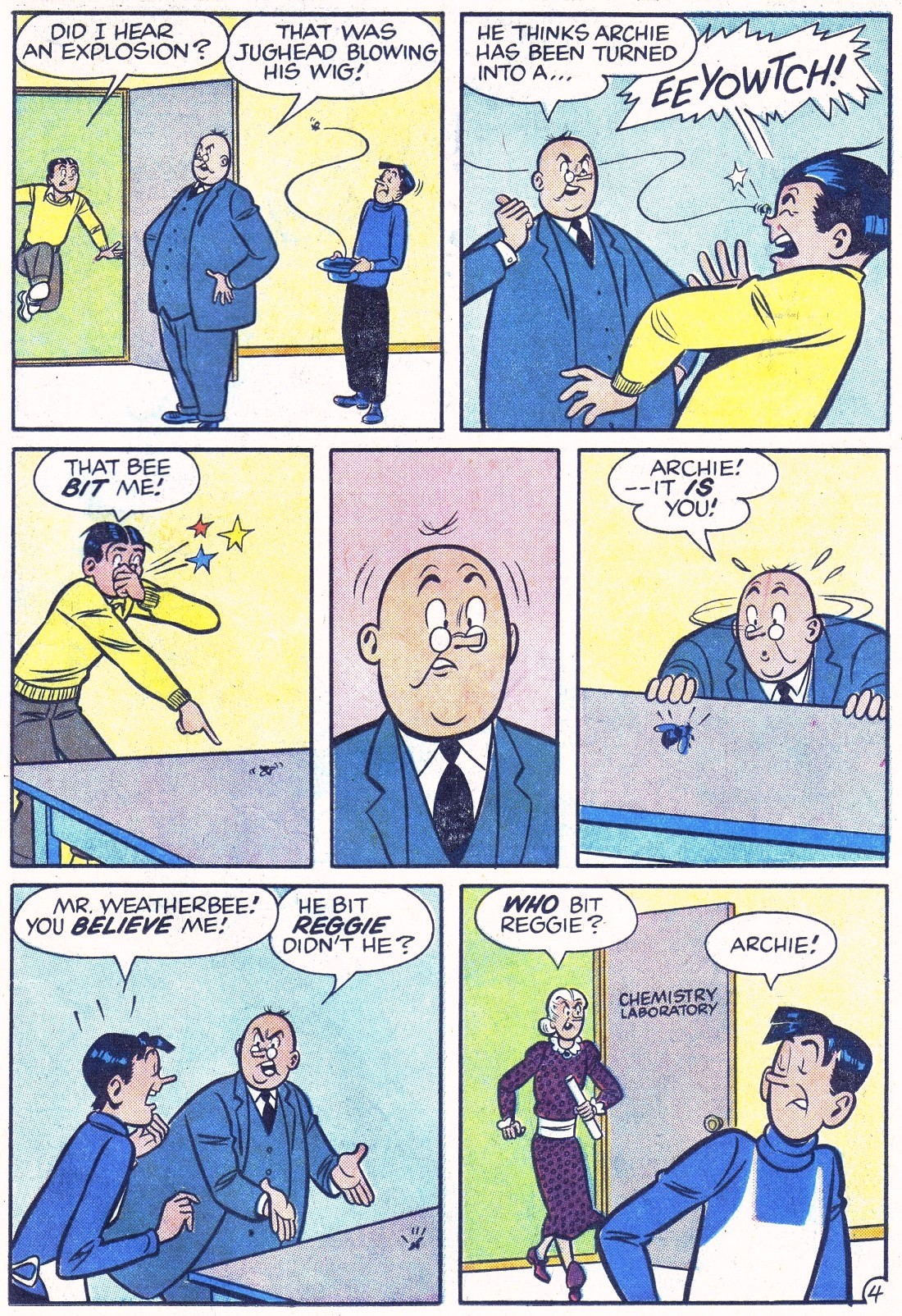 Read online Archie (1960) comic -  Issue #124 - 23